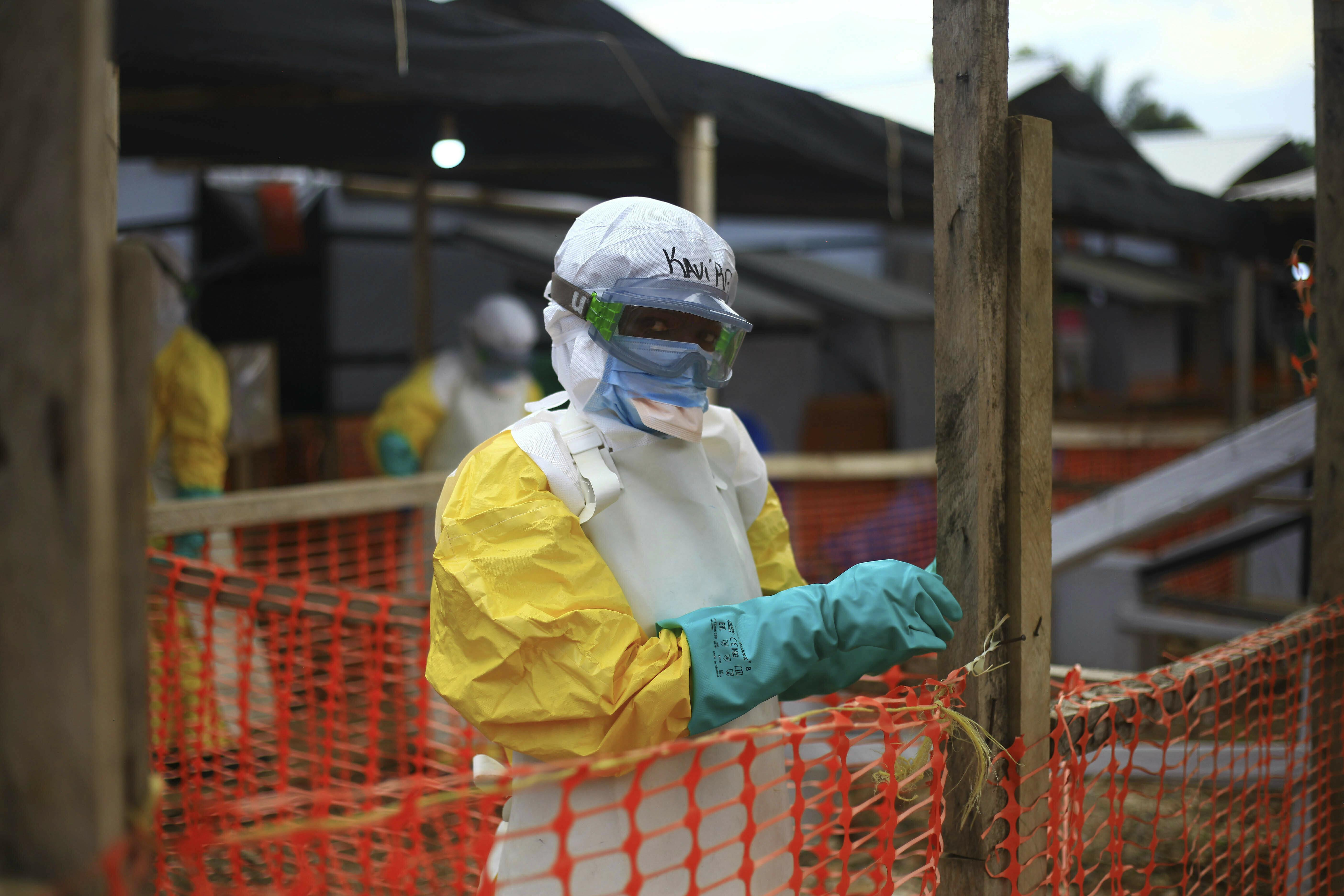 Attackers kill Ebola worker in Democratic Republic of Congo: WHO