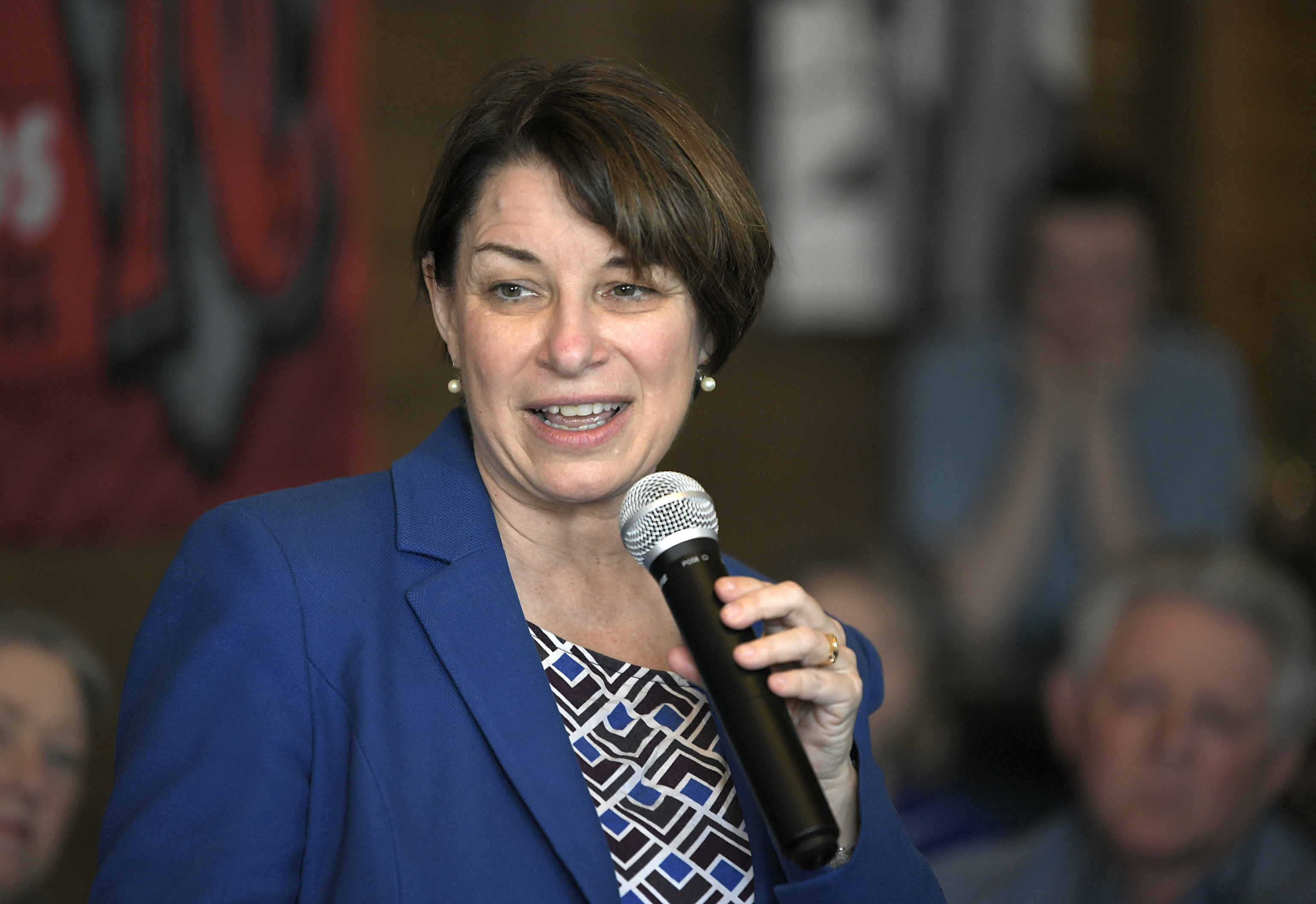 Amy Klobuchar: If House brings impeachment proceedings, 'we will deal with them'