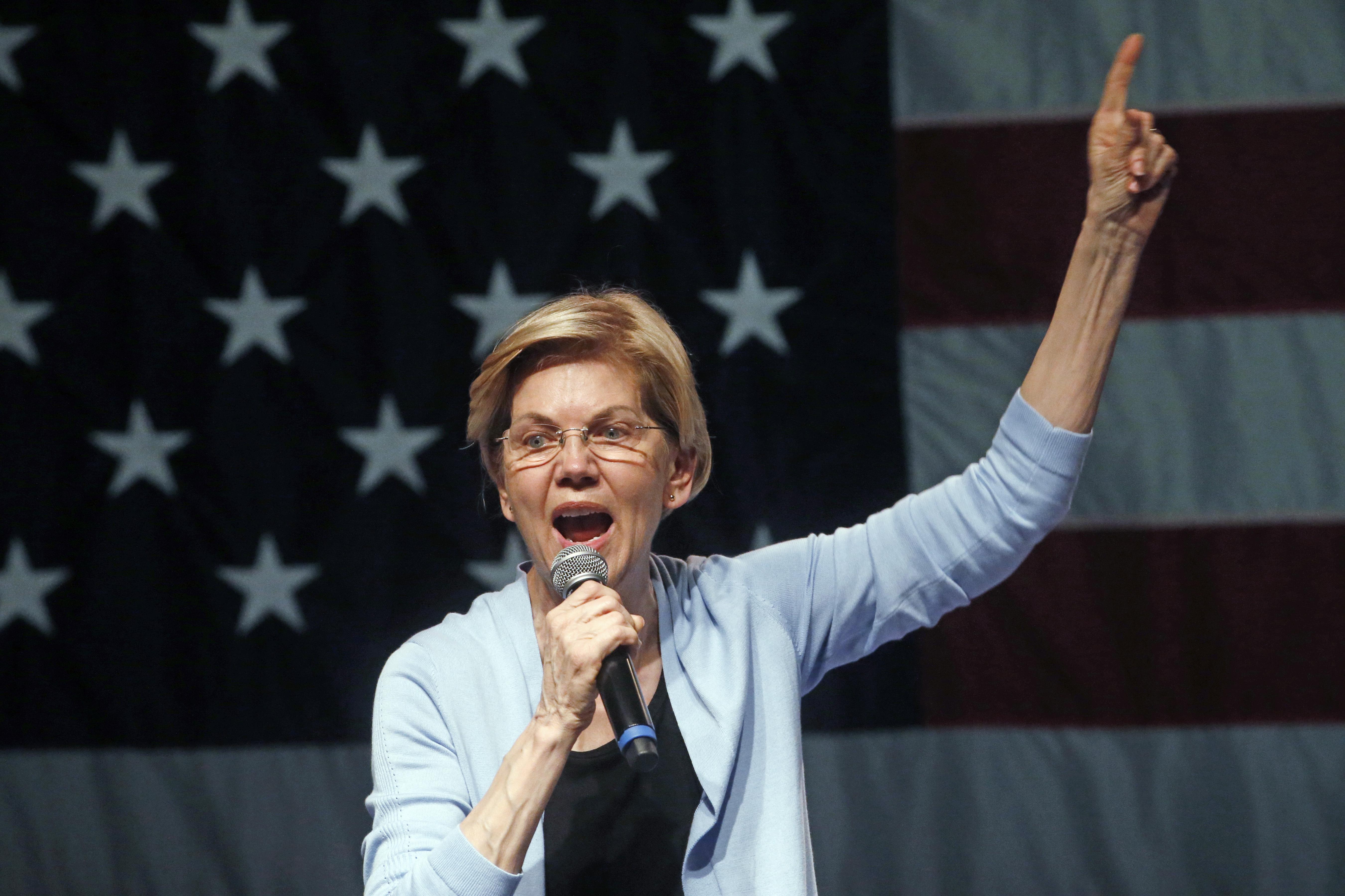 Elizabeth Warren unveils plan to erase $50,000 of student debt for most Americans