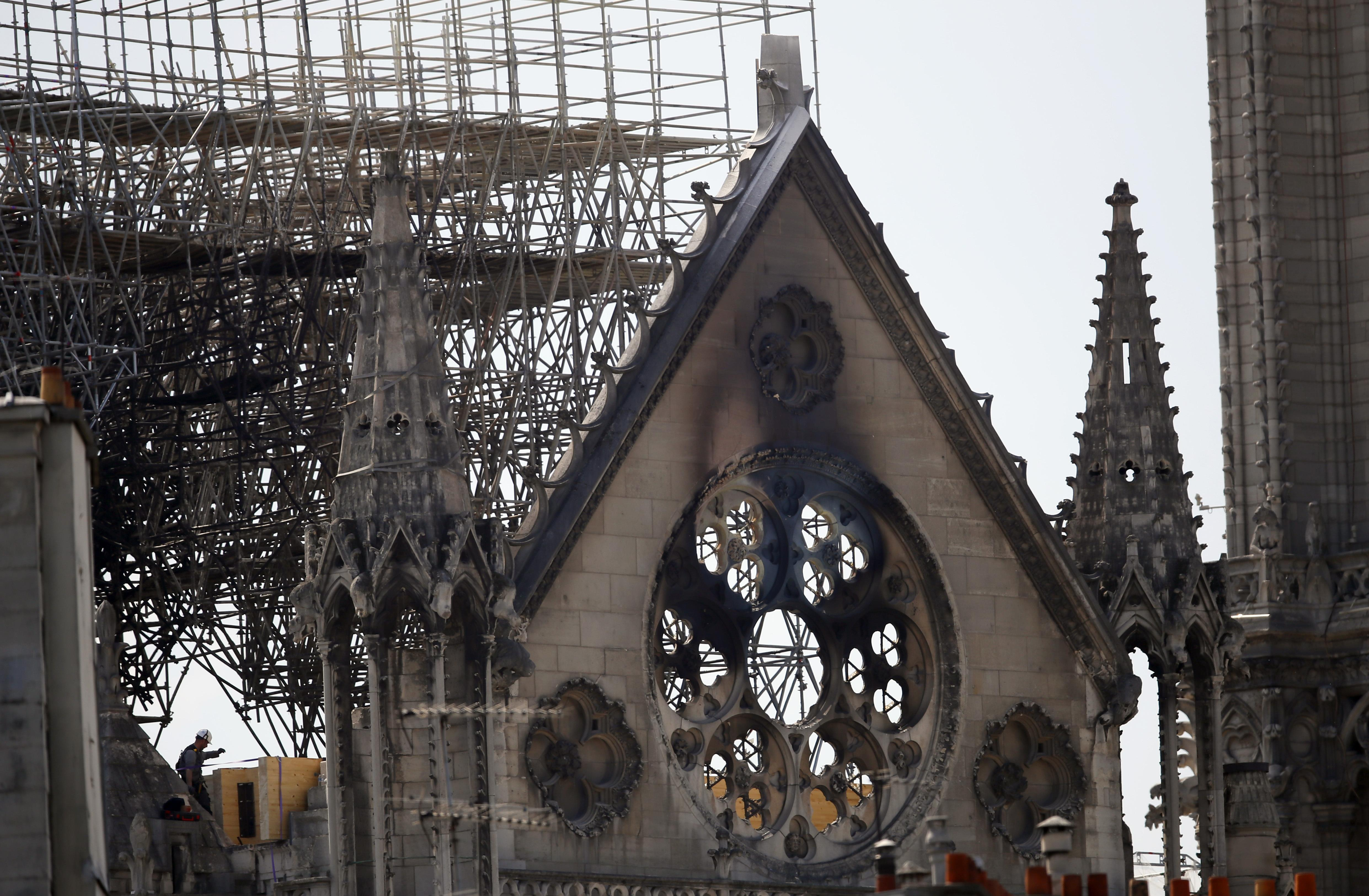 Trump offers condolences to Pope Francis over Notre Dame fire