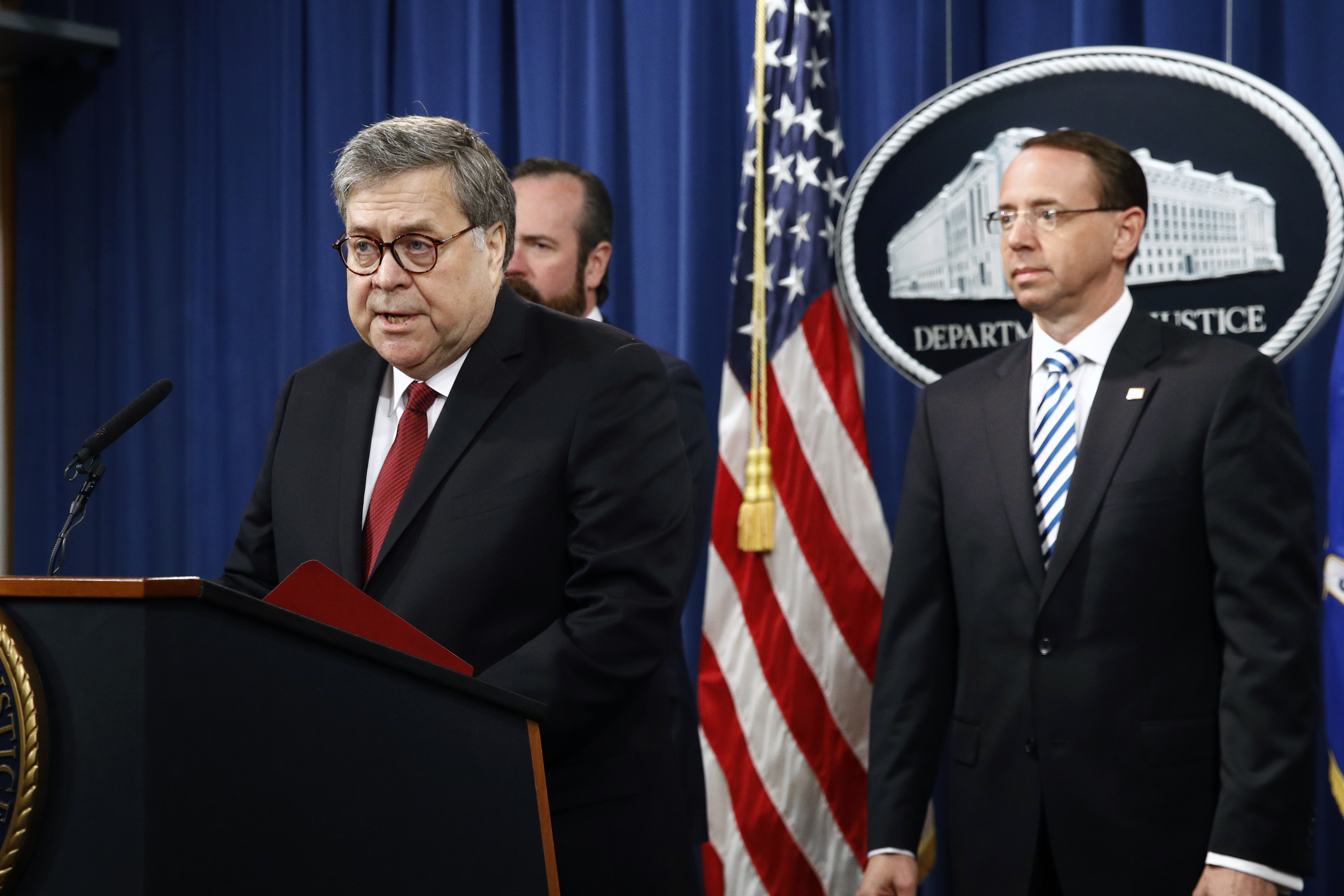 Barr: Mueller found no Russia conspiracy