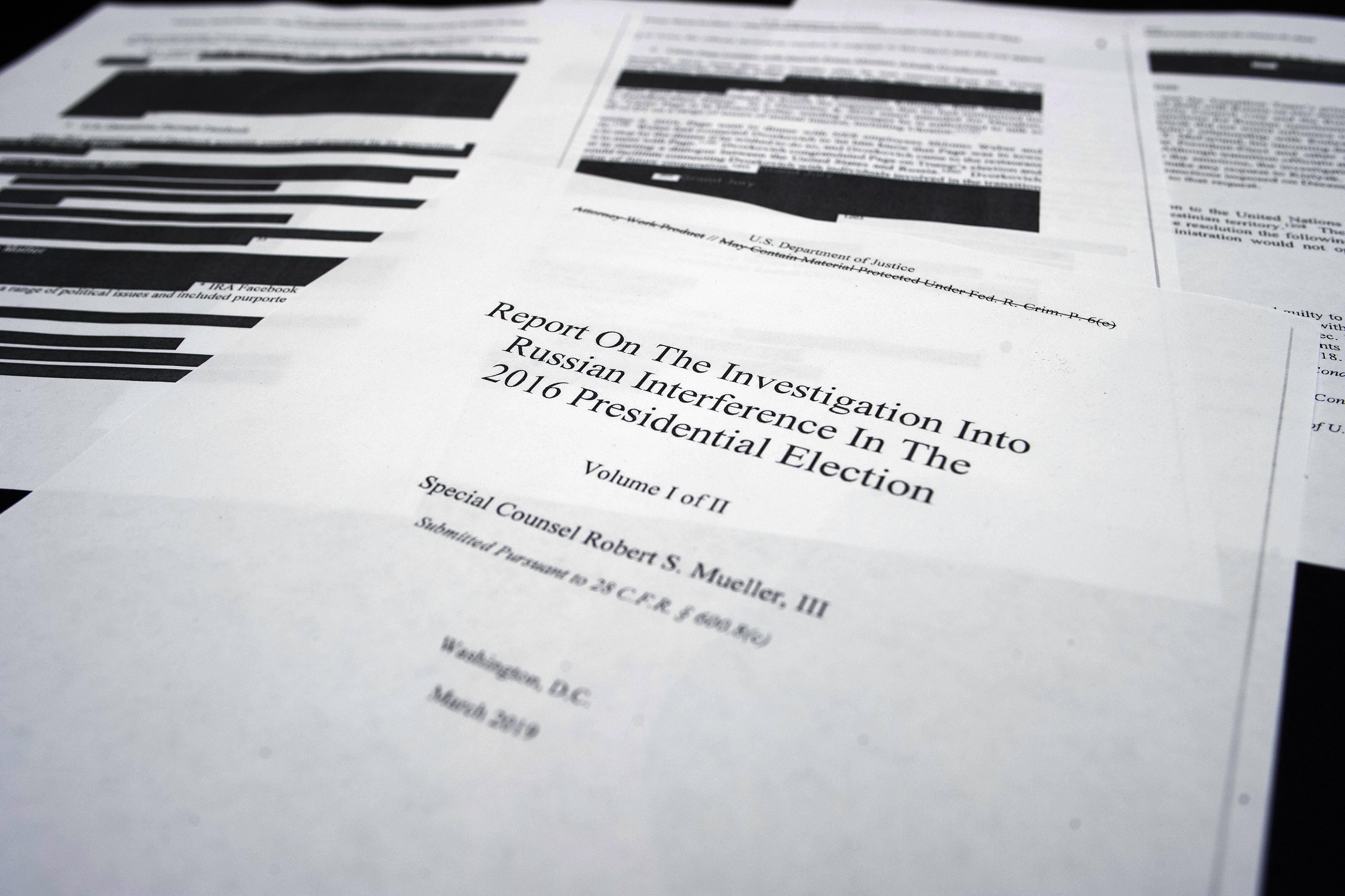 Democrats refuse offer of less-redacted Mueller report