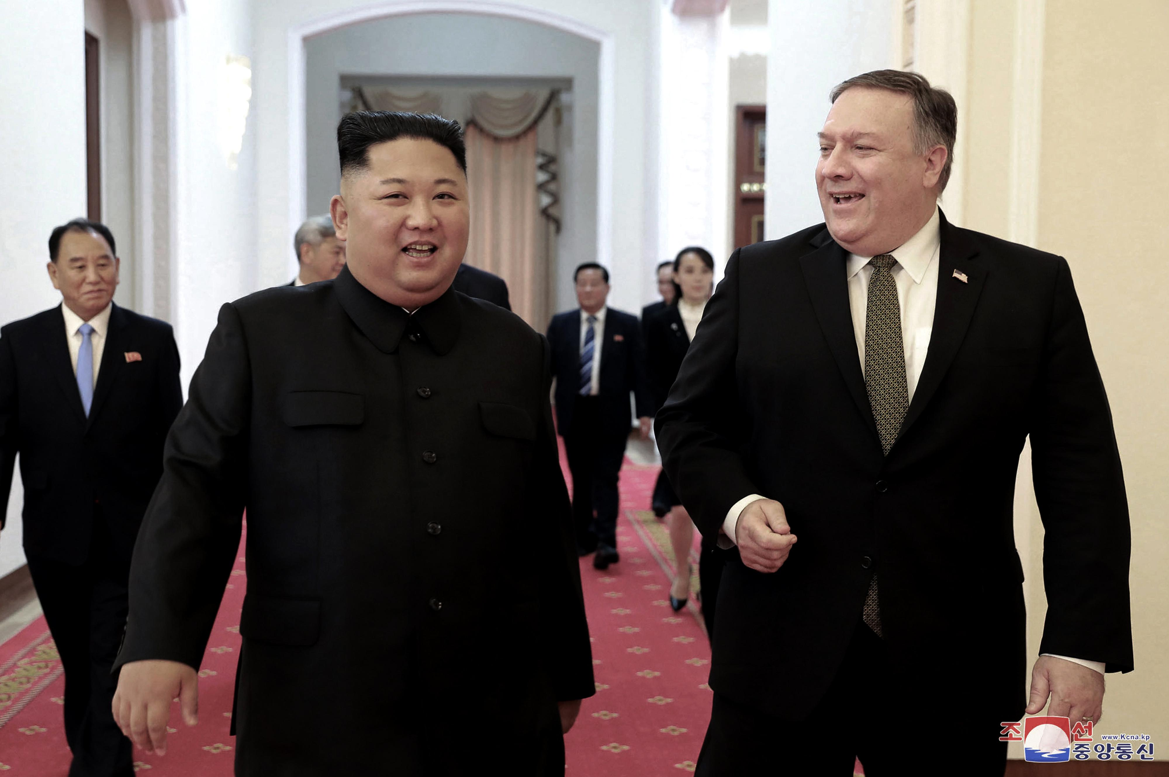 Kim regime slams Pompeo, sanctions, despite 'behind-the-scenes' talks