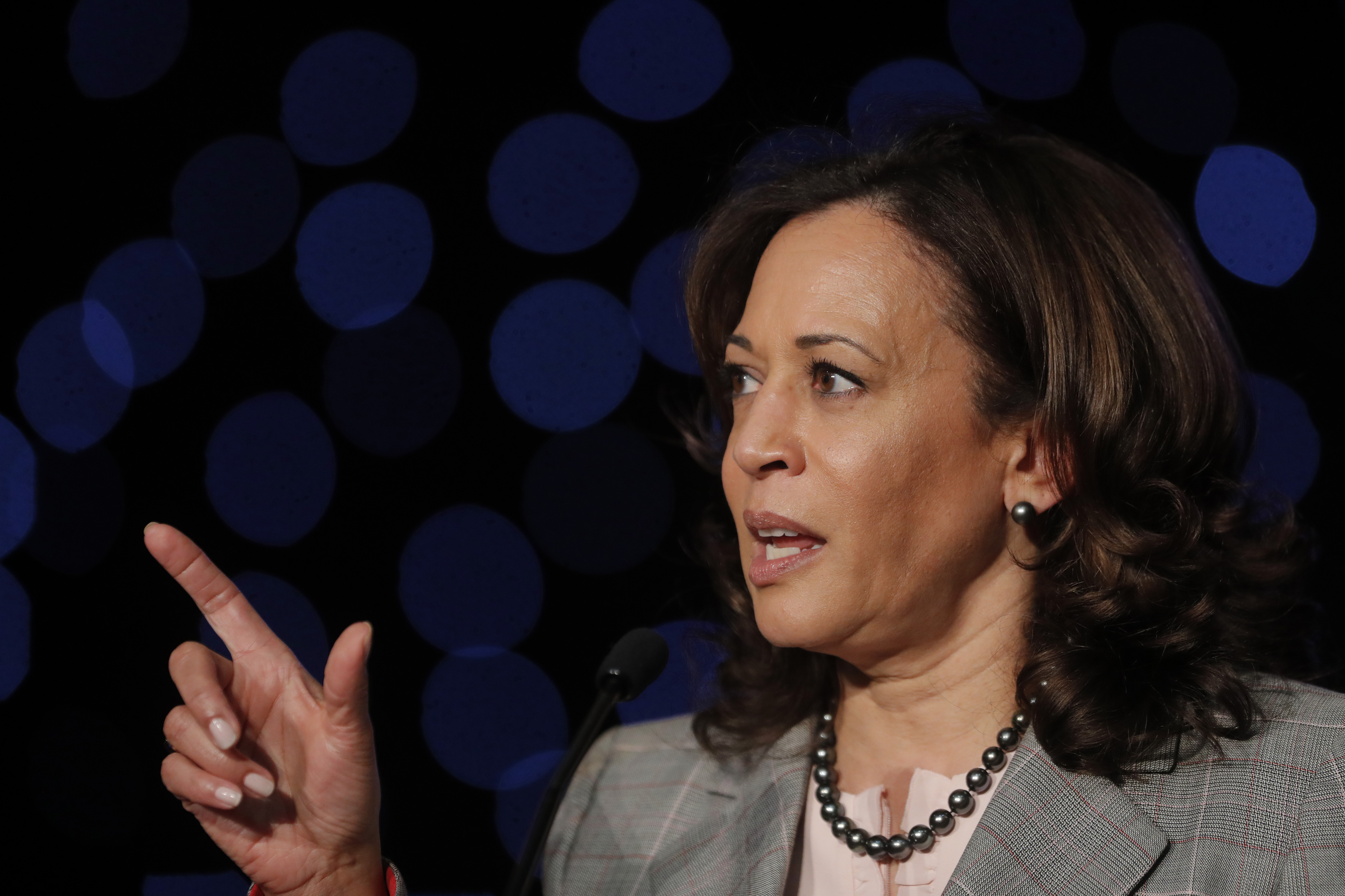 Kamala Harris says she would take executive action on gun violence in first 100 days