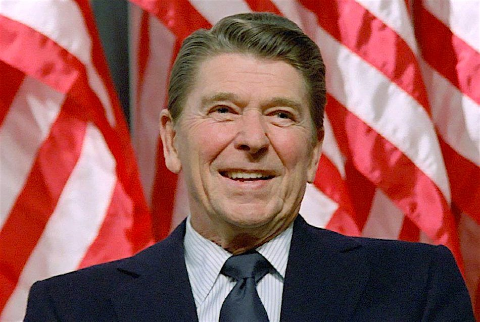 Ronald Reagan, the college course
