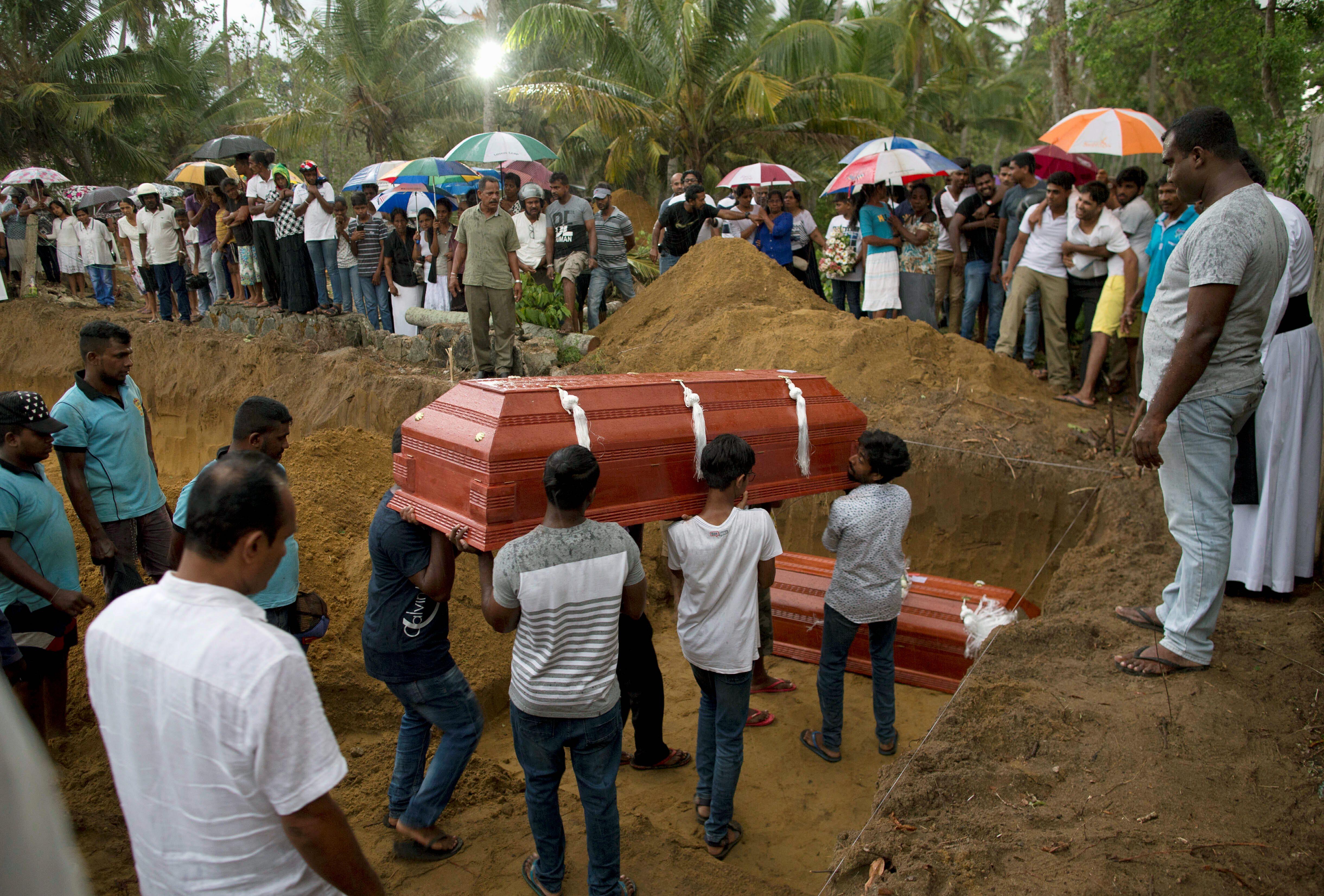 Sri Lanka Easter attack result of international network