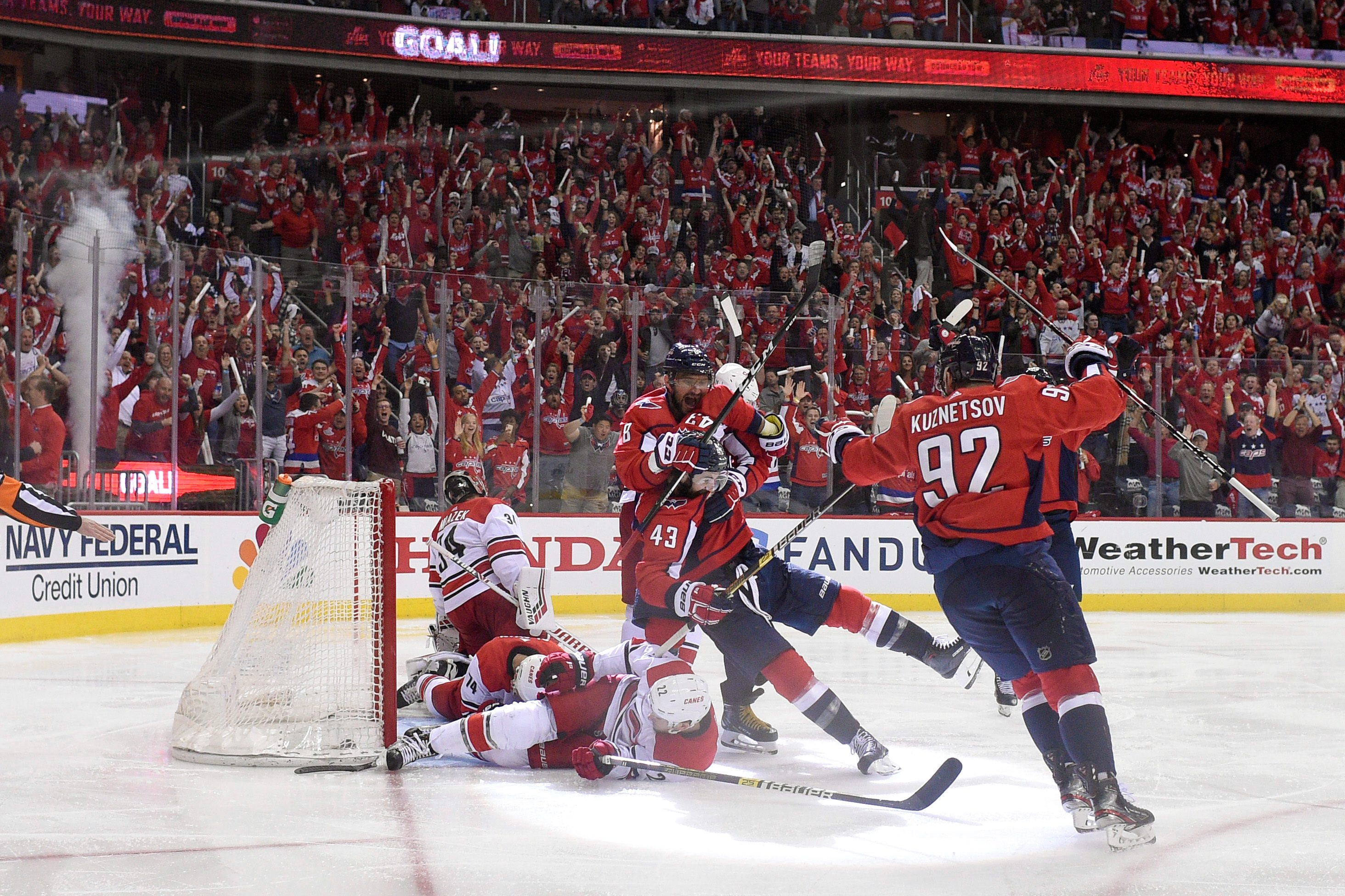 Capitals fans flood ticket market in final game of series