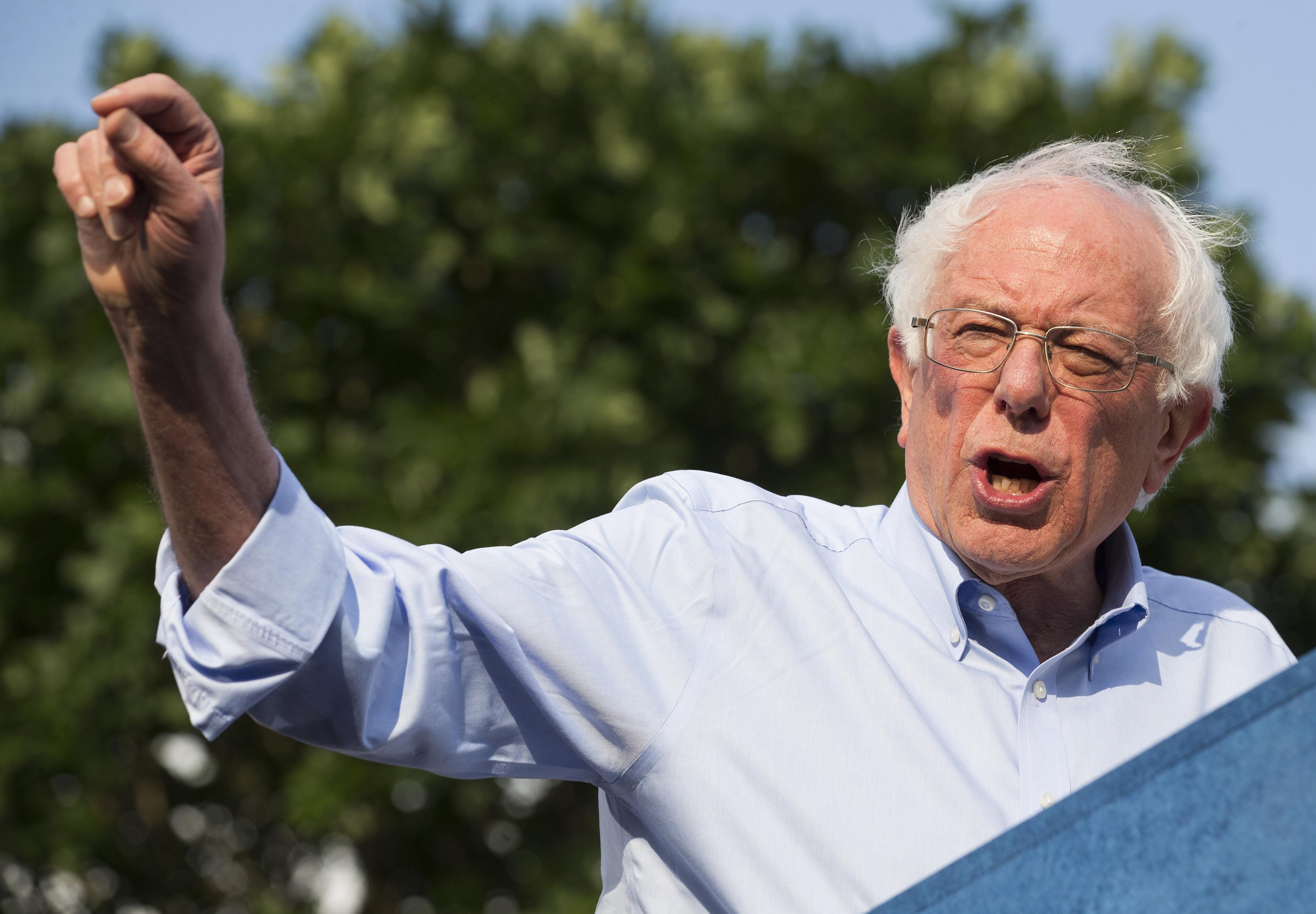 Sen. Bernie Sanders, now a millionaire, once called millionaire senators 'immoral'