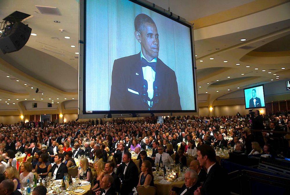 Crybaby meltdown at White House Correspondents' Association dinner