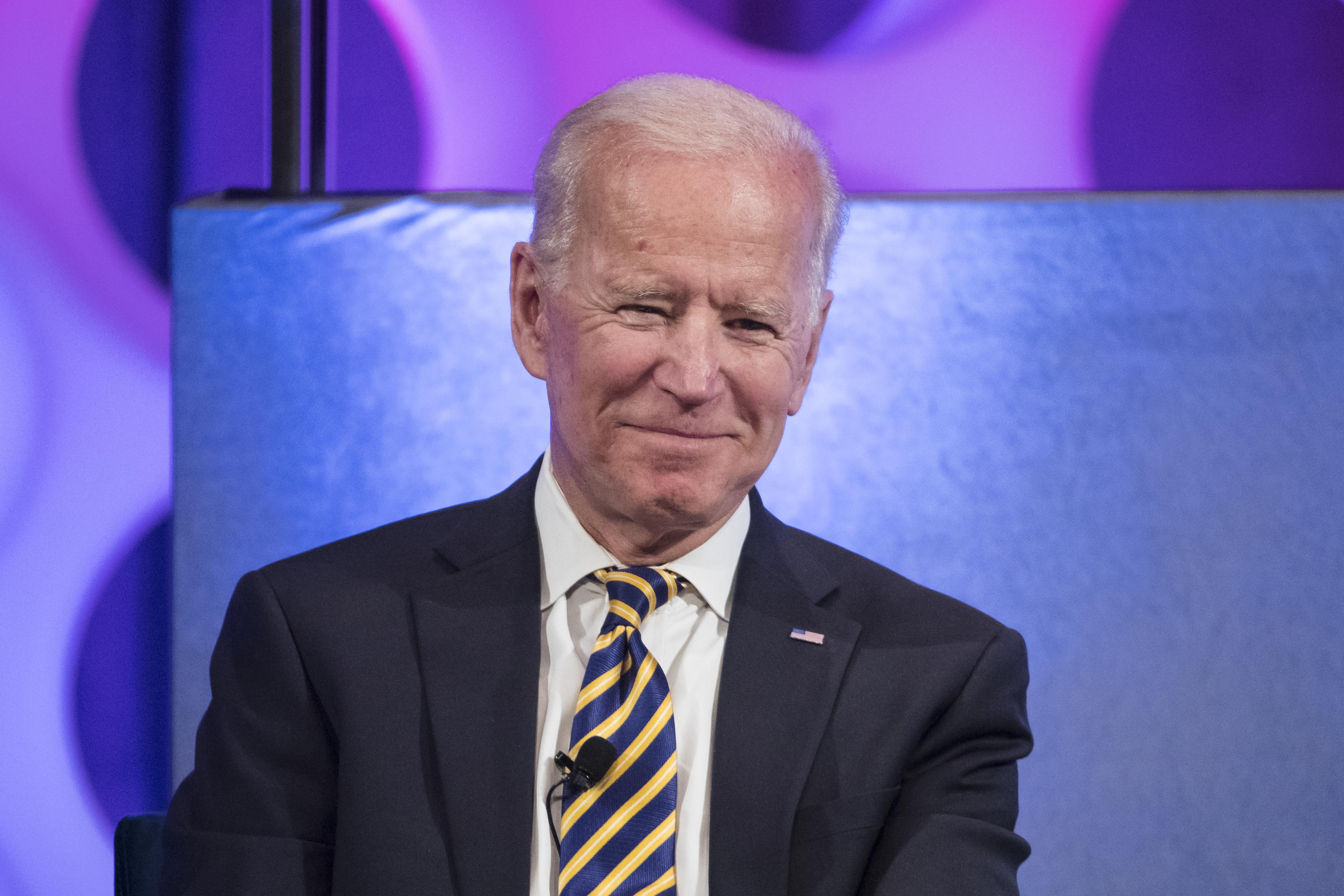 Joe Biden's presidential campaign kickoff a shameless stunt