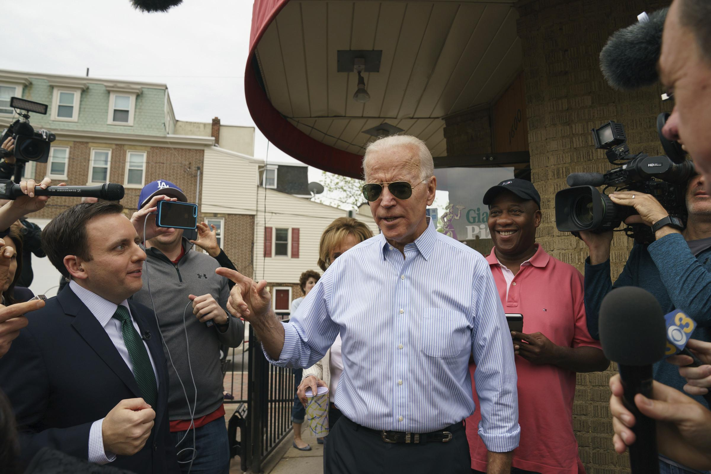 Presidential candidate Joe Biden on harassment allegations: 'I'm sorry I invaded your space'