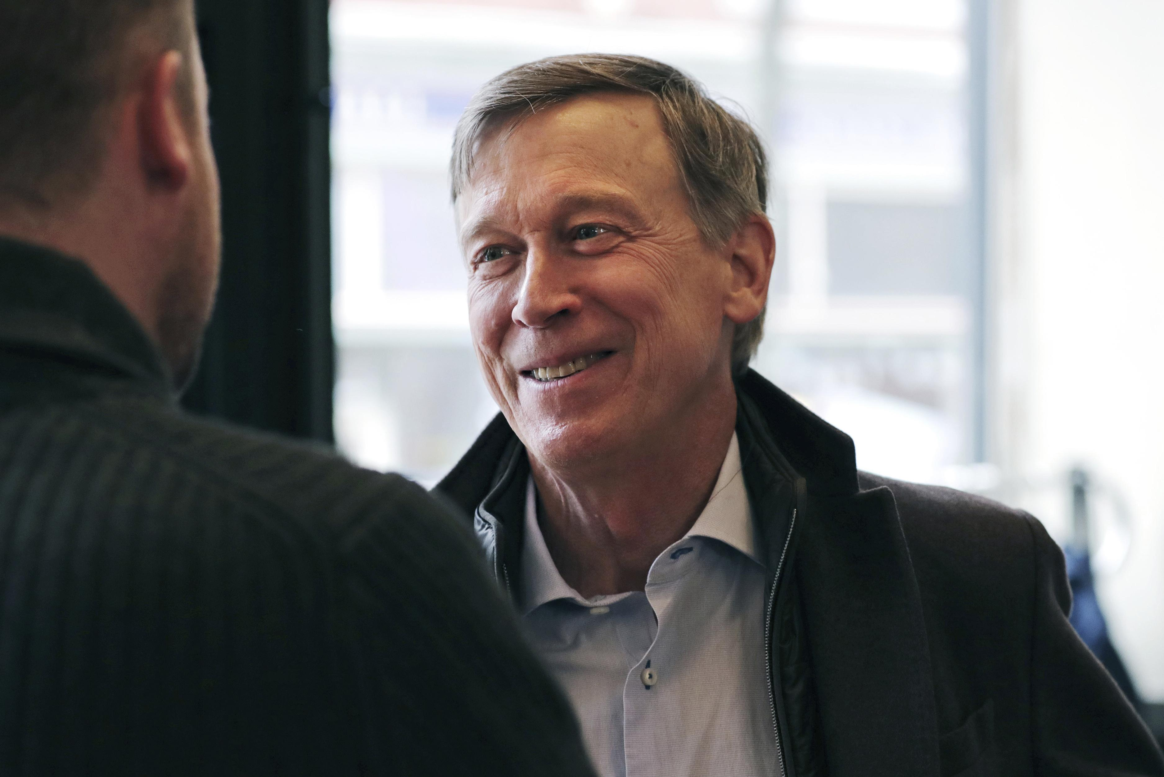 John Hickenlooper: Withdrawing U.S. from global engagement makes us 'less safe'