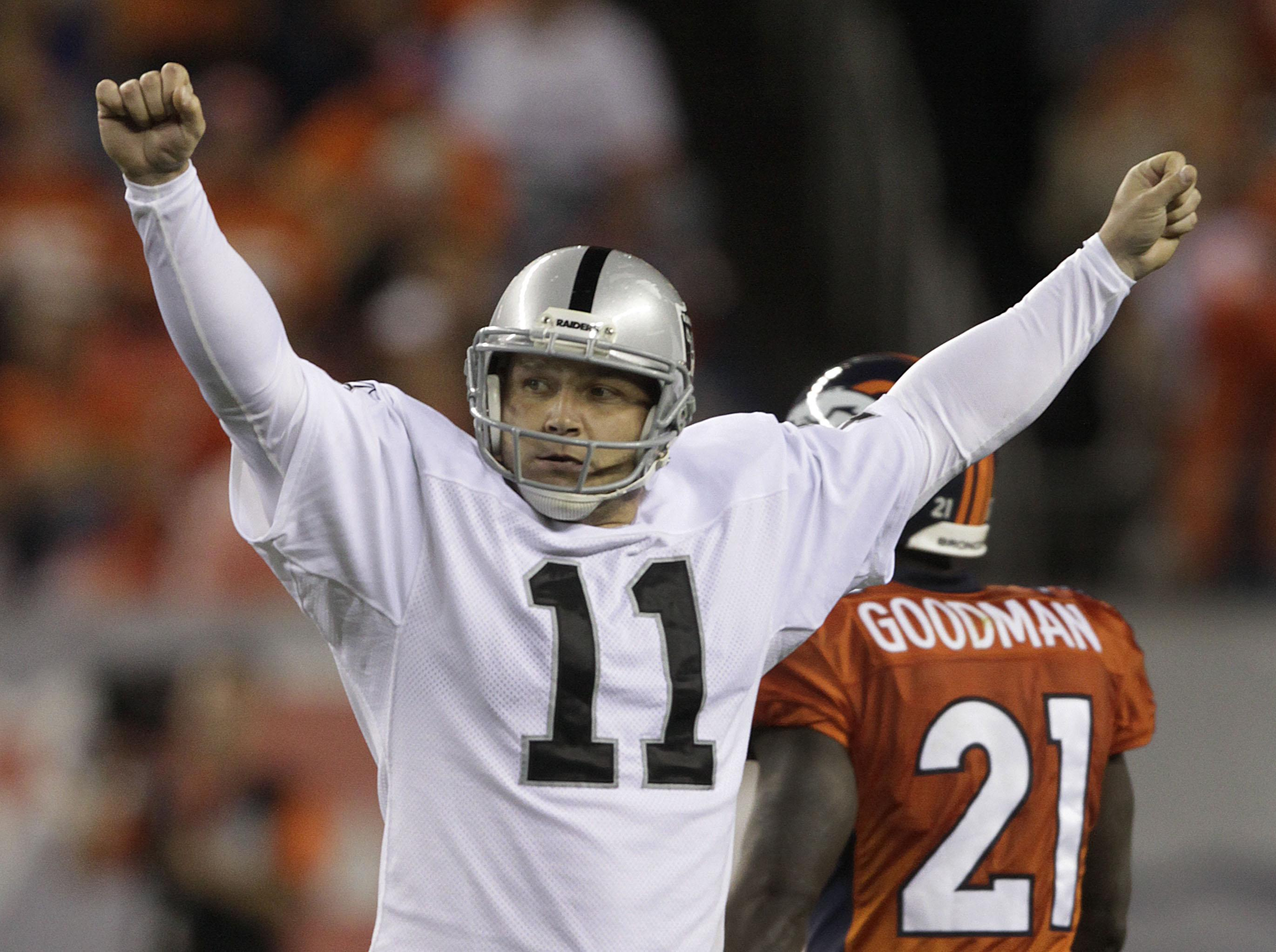 Ex-Raiders, Seahawks kicker Sebastian Janikowski retiring after 18 seasons