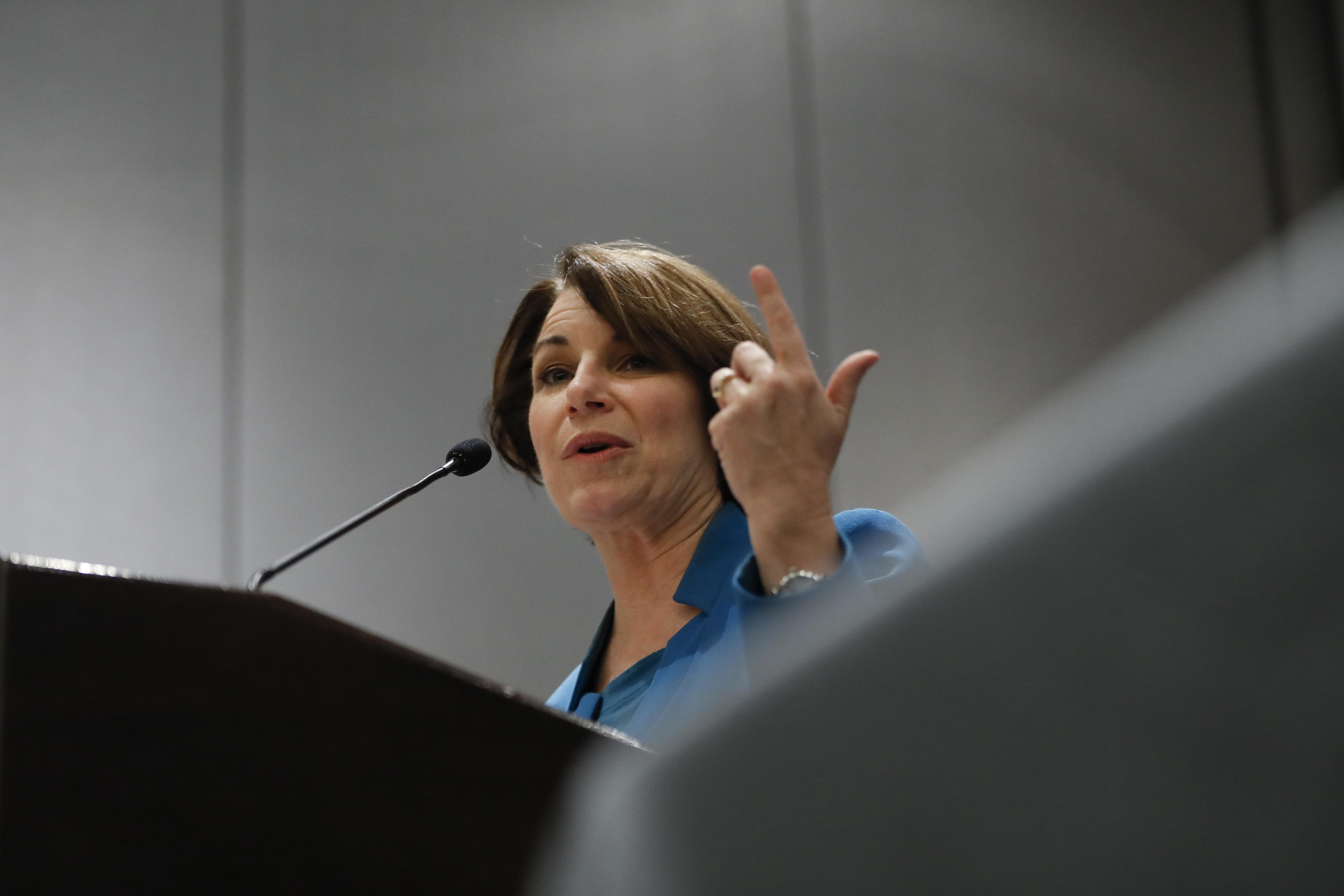 Klobuchar: Trump involved in 'disinformation campaign' by tweeting doctored Pelosi video