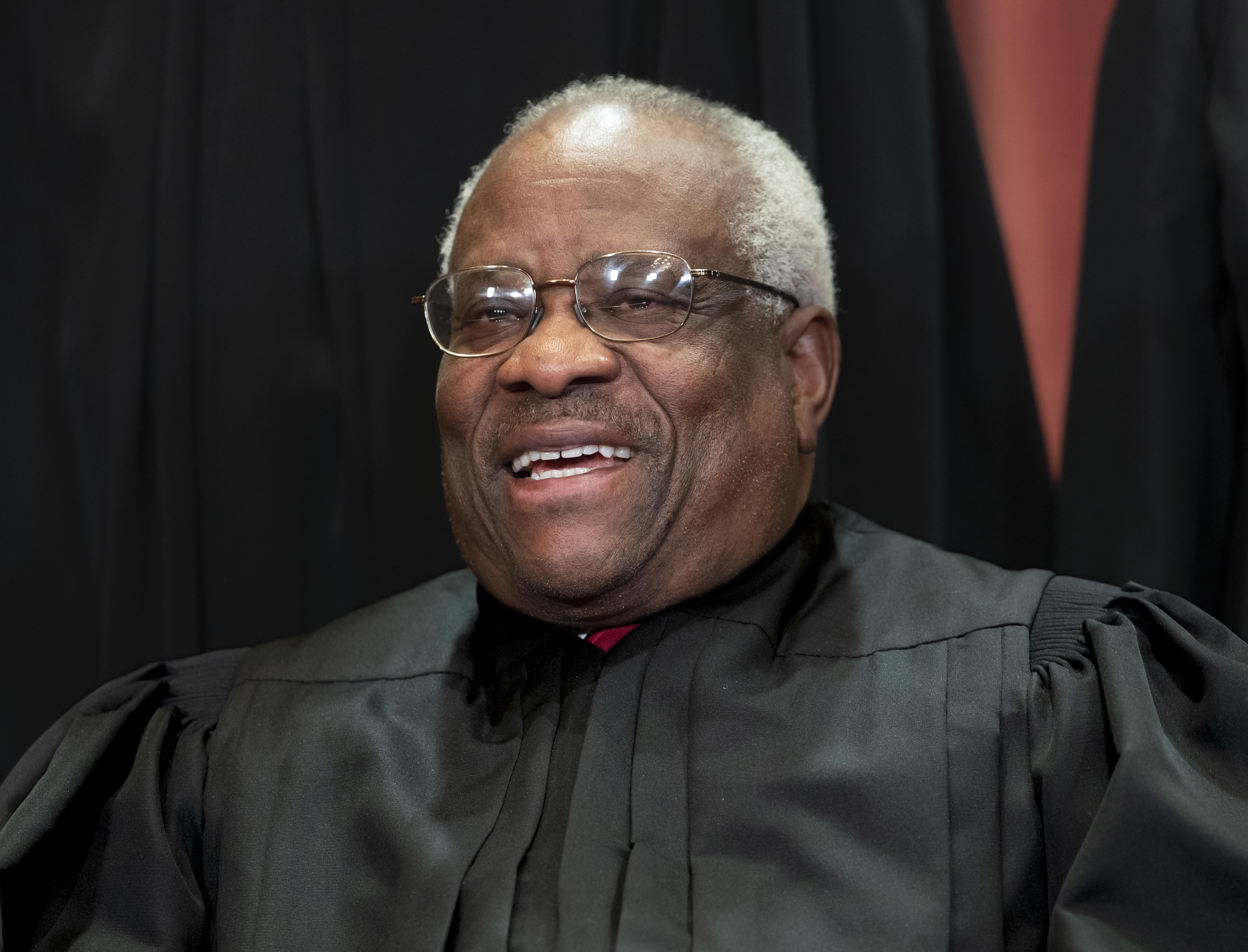 Justice Clarence Thomas quashes retirement rumors: 'I enjoy being here'