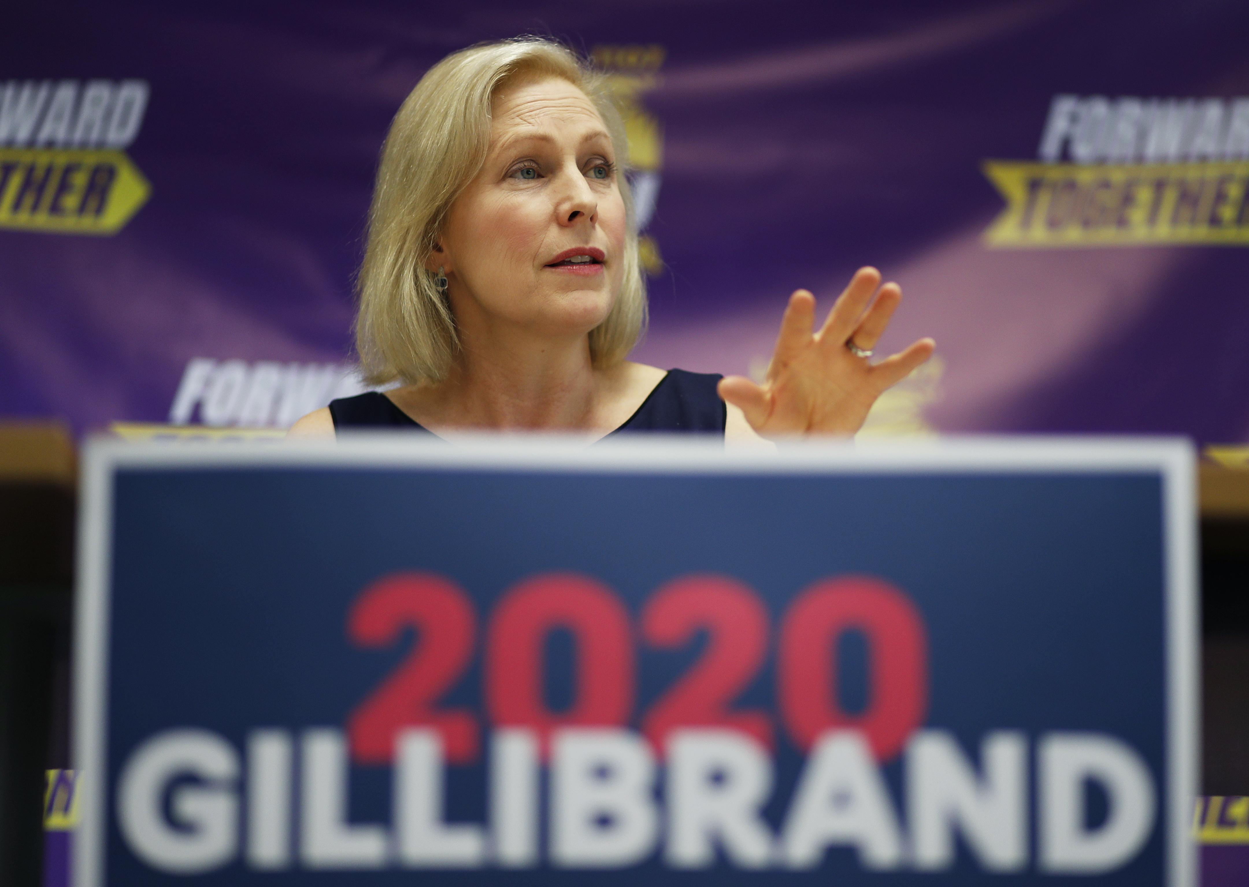 Rep. Steve King hits back at Kirsten Gillibrand, says she has 'ZERO' chance of Democratic nomination