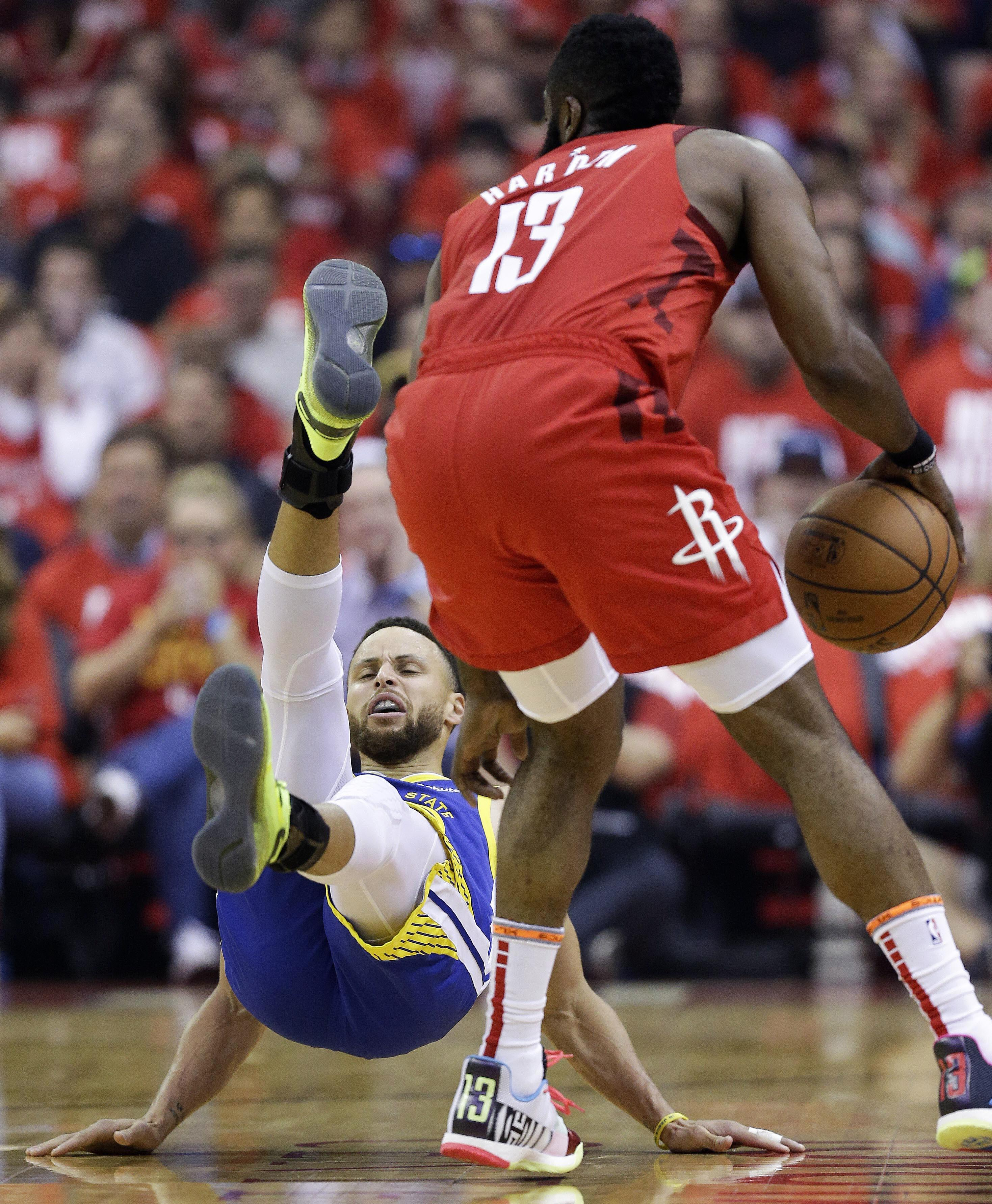 408a35dd4f34 Harden scores 38 as Rockets even series with Warriors - Washington Times