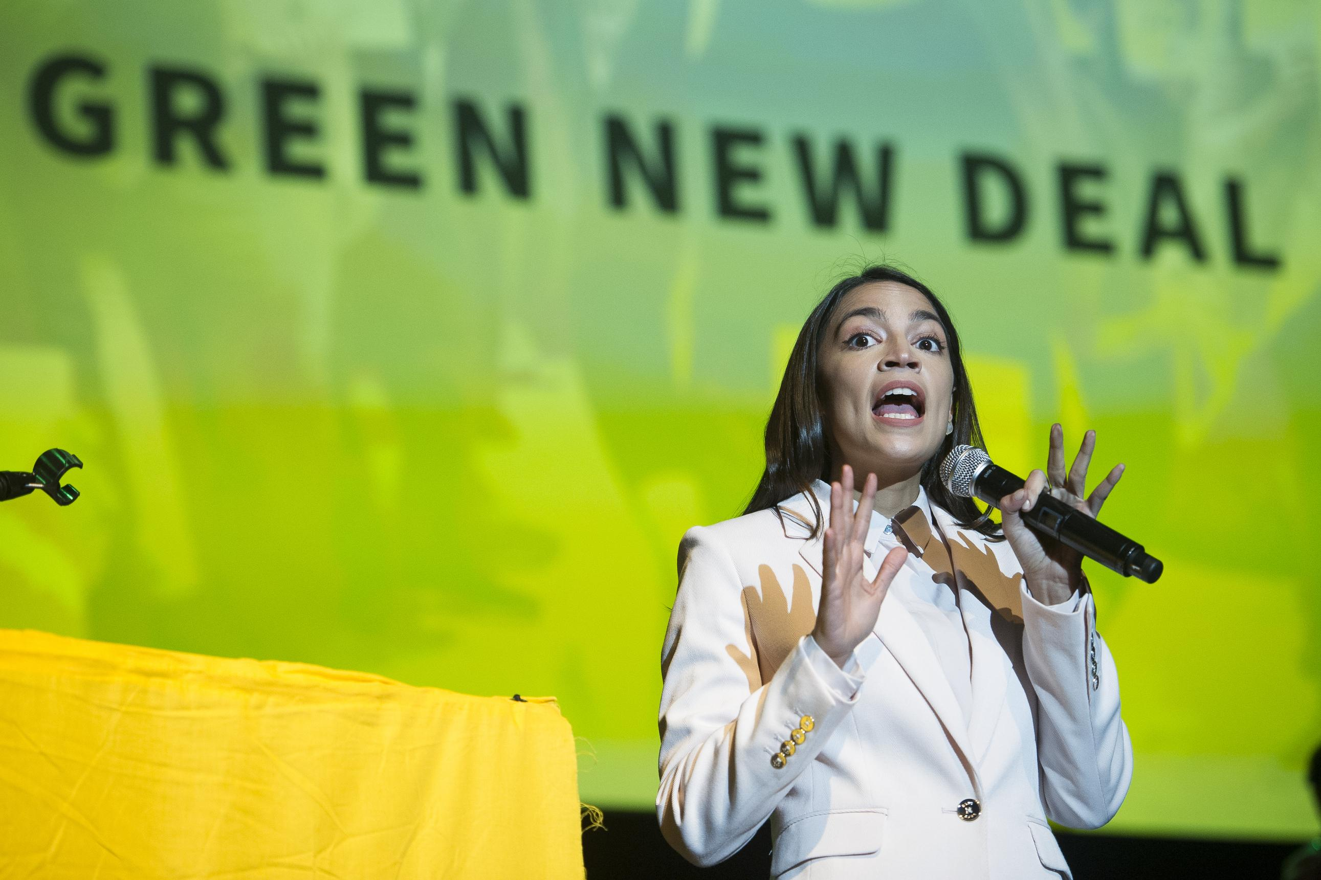 Rep. Alexandria Ocasio-Cortez delivers implicit rebuke to Joe Biden on climate change
