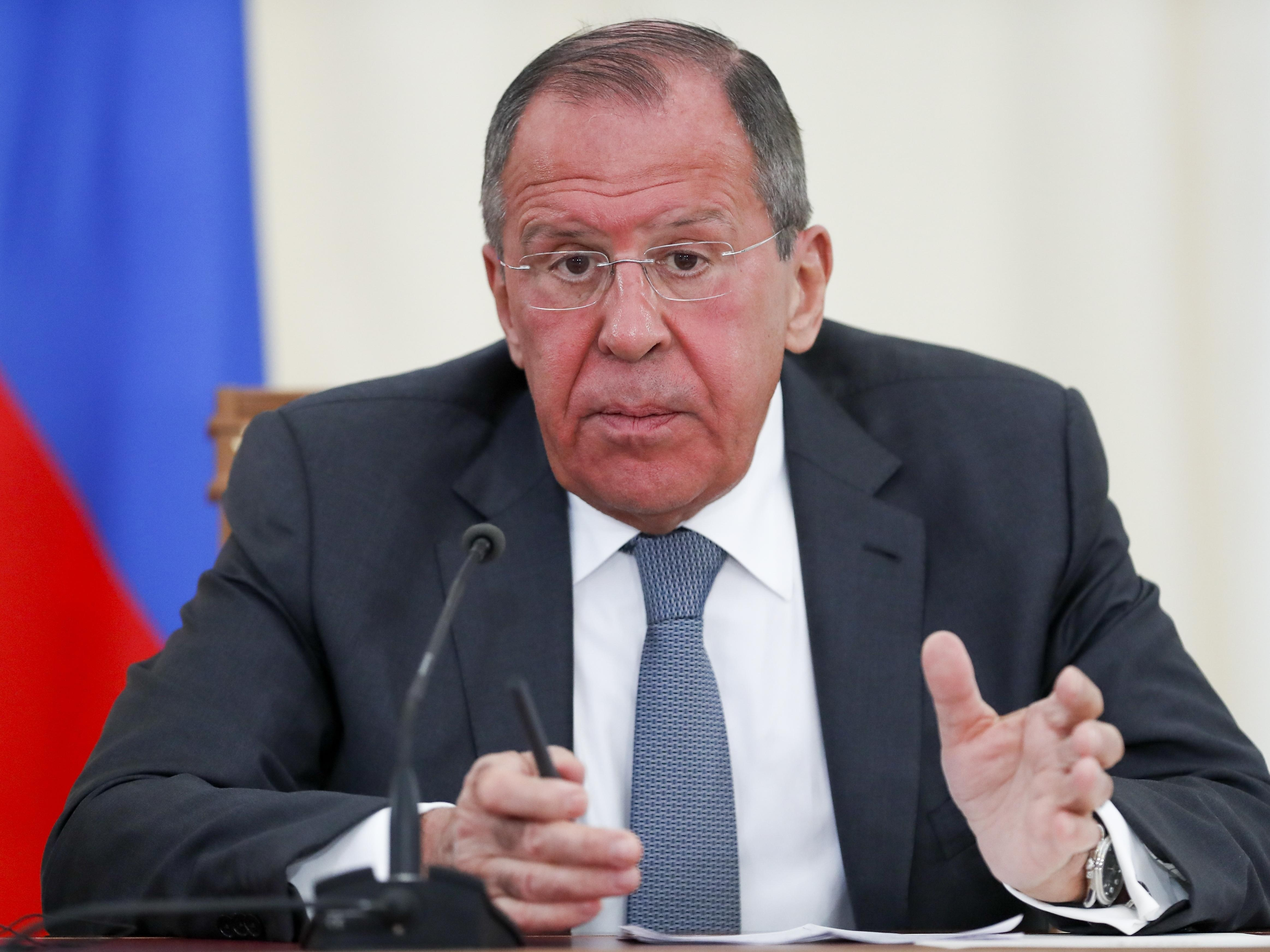 Sergey Lavrov, Russian foreign minister, says relations with U.S. unlikely to improve soon