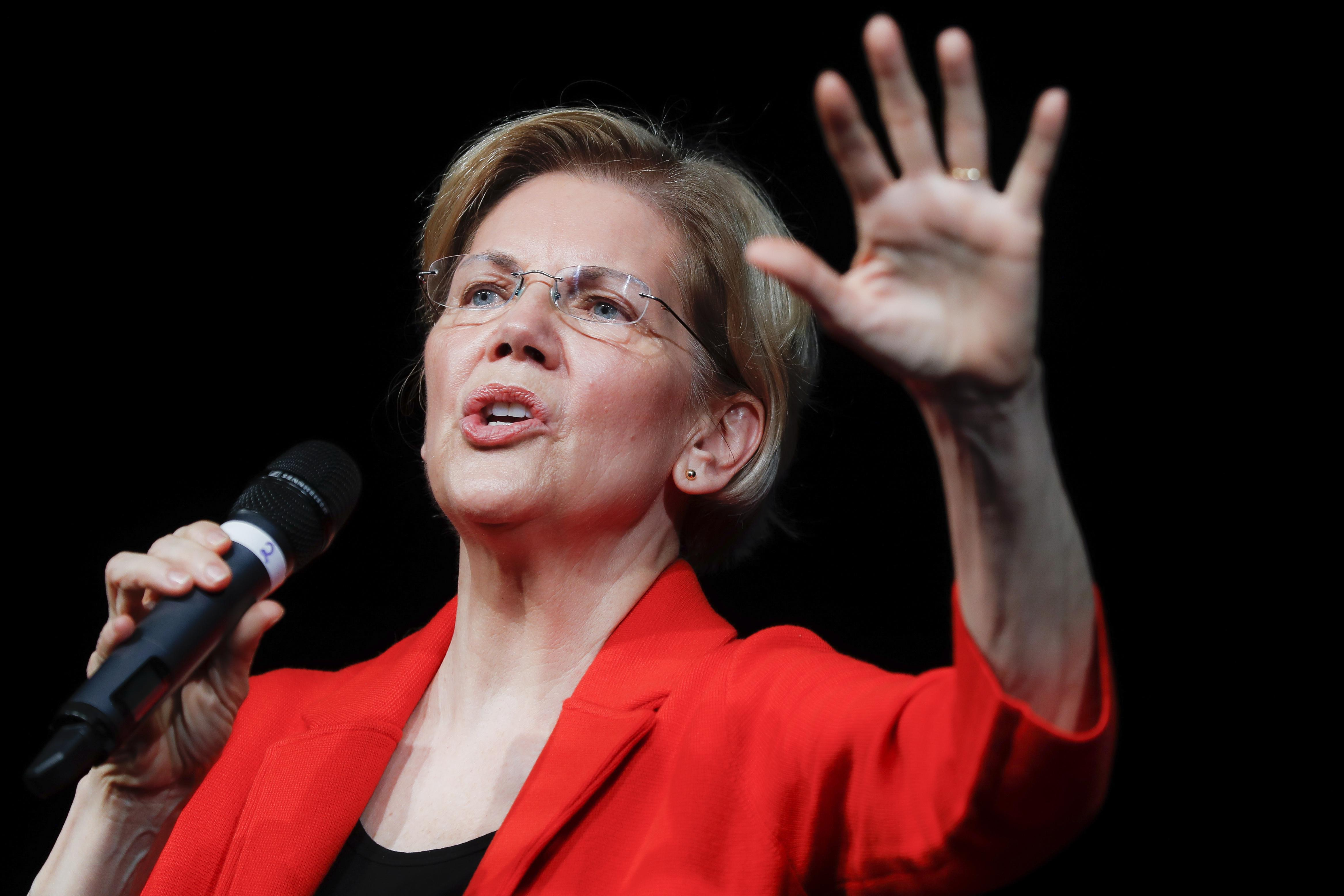 Elizabeth Warren's campaign releases list of dozens of legal cases she was involved in