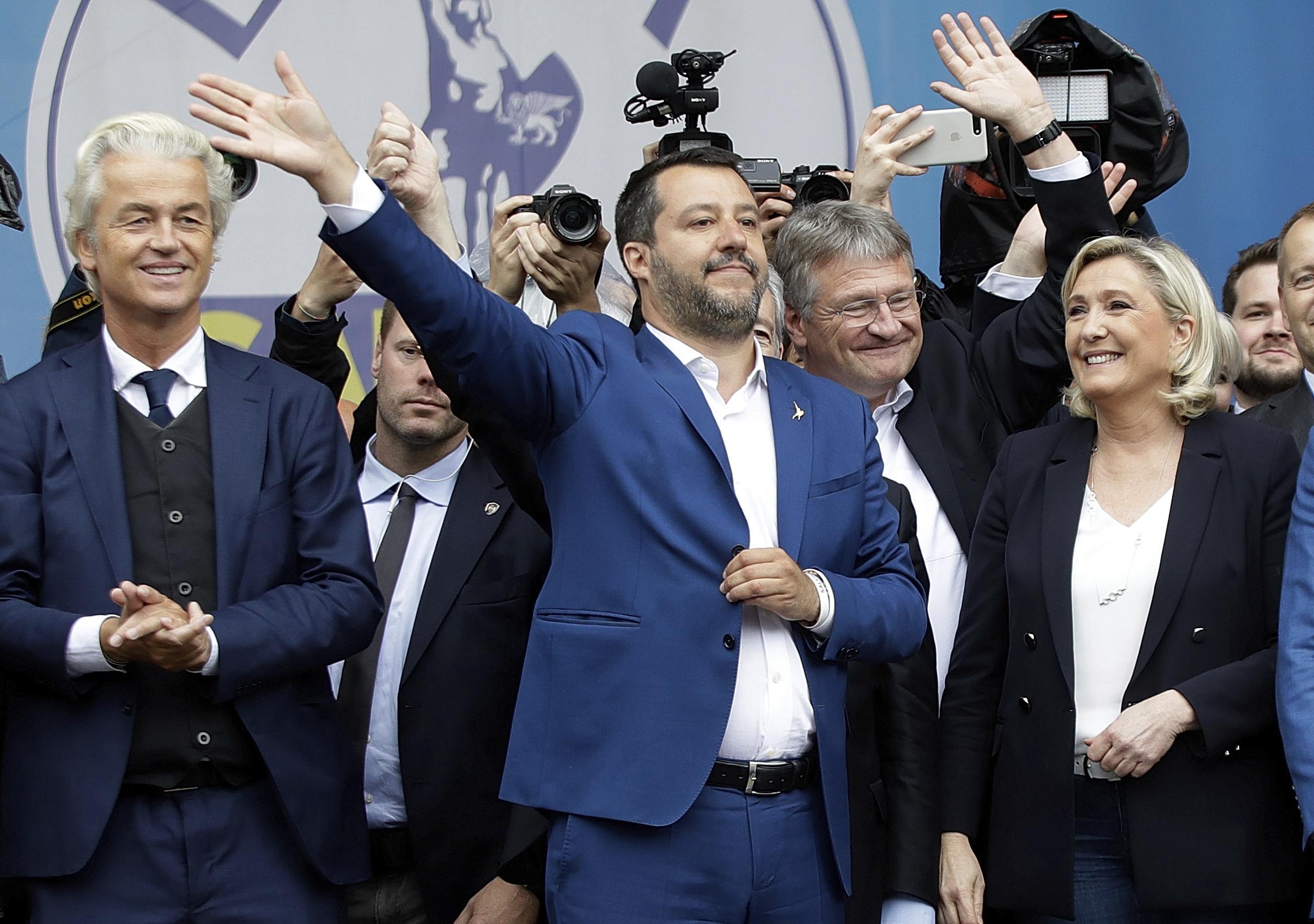 'New era': Far-right populists surge in polls ahead of EU Parliament elections