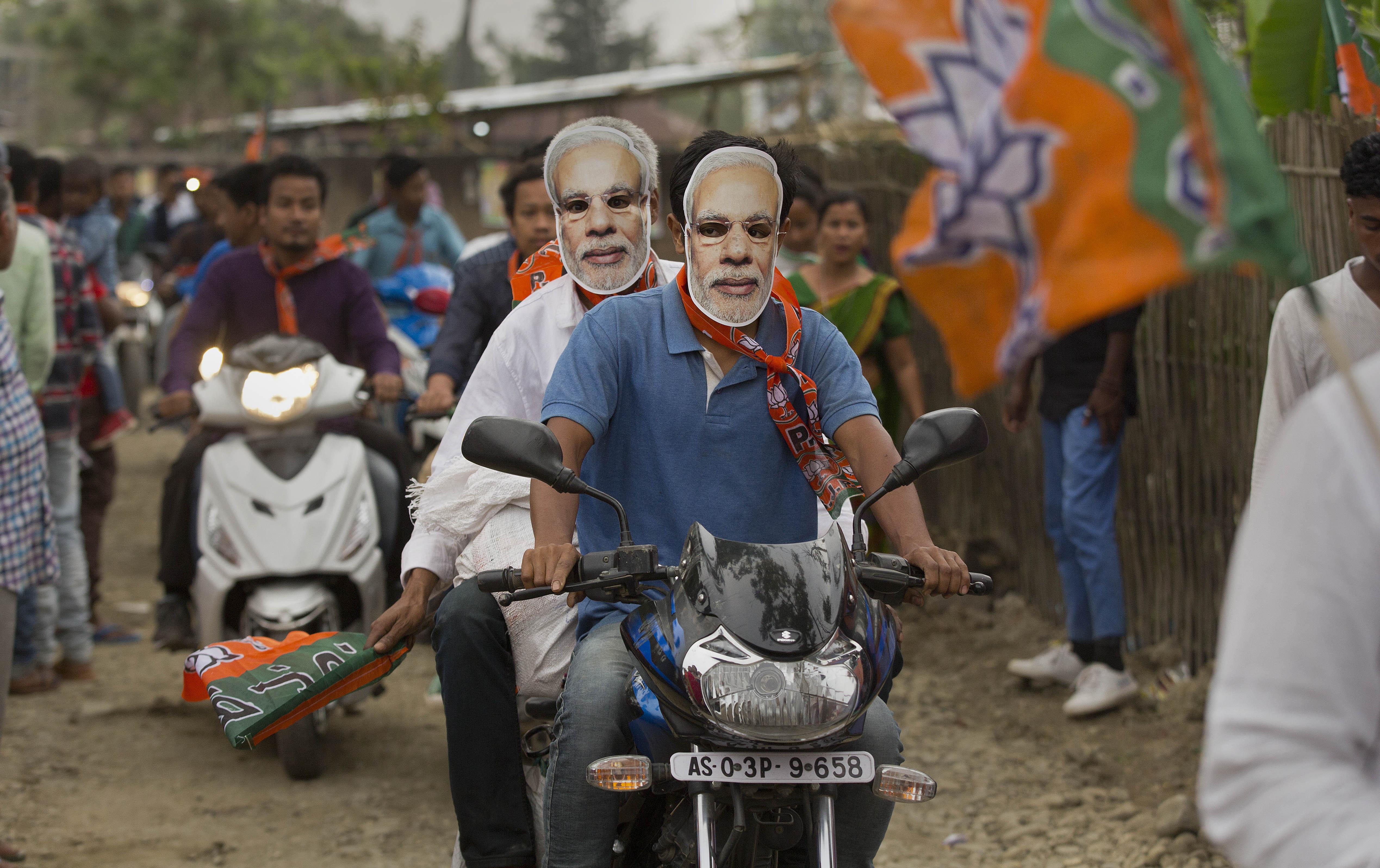 Final round of voting underway in India's marathon elections