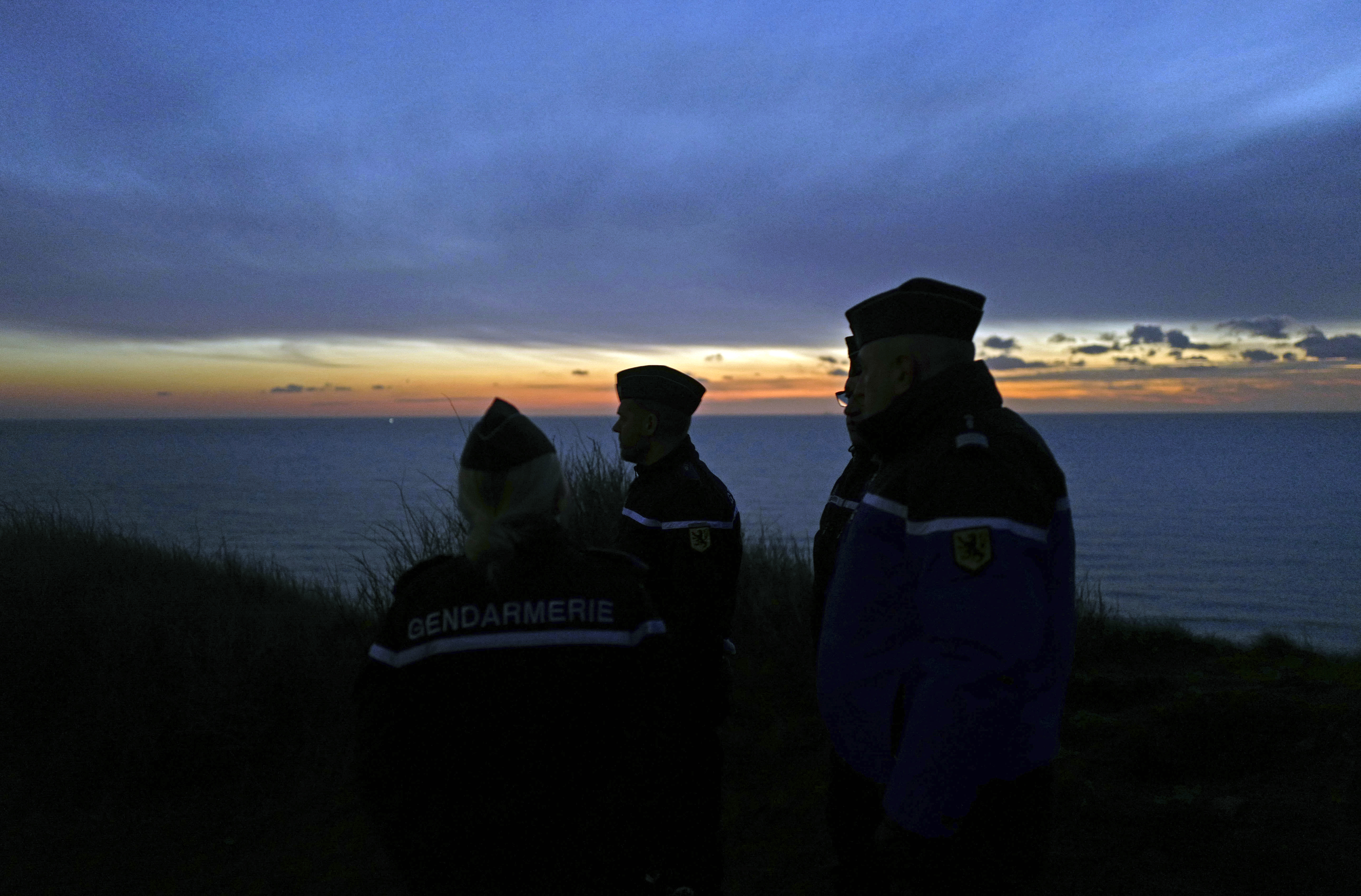 Migrant boats intercepted in English Channel