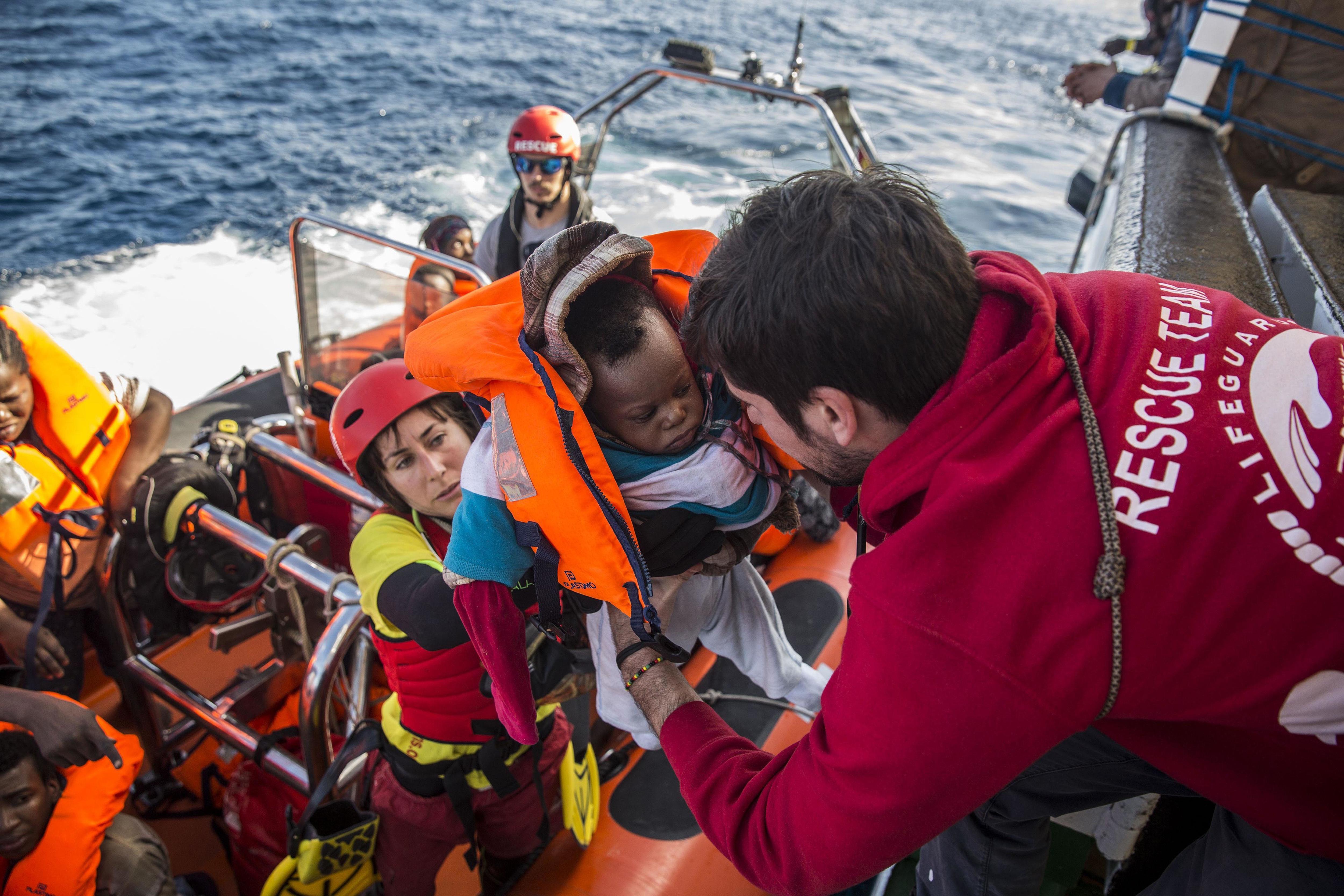 Libyan migrants fleeing civil war create new political waves in Europe