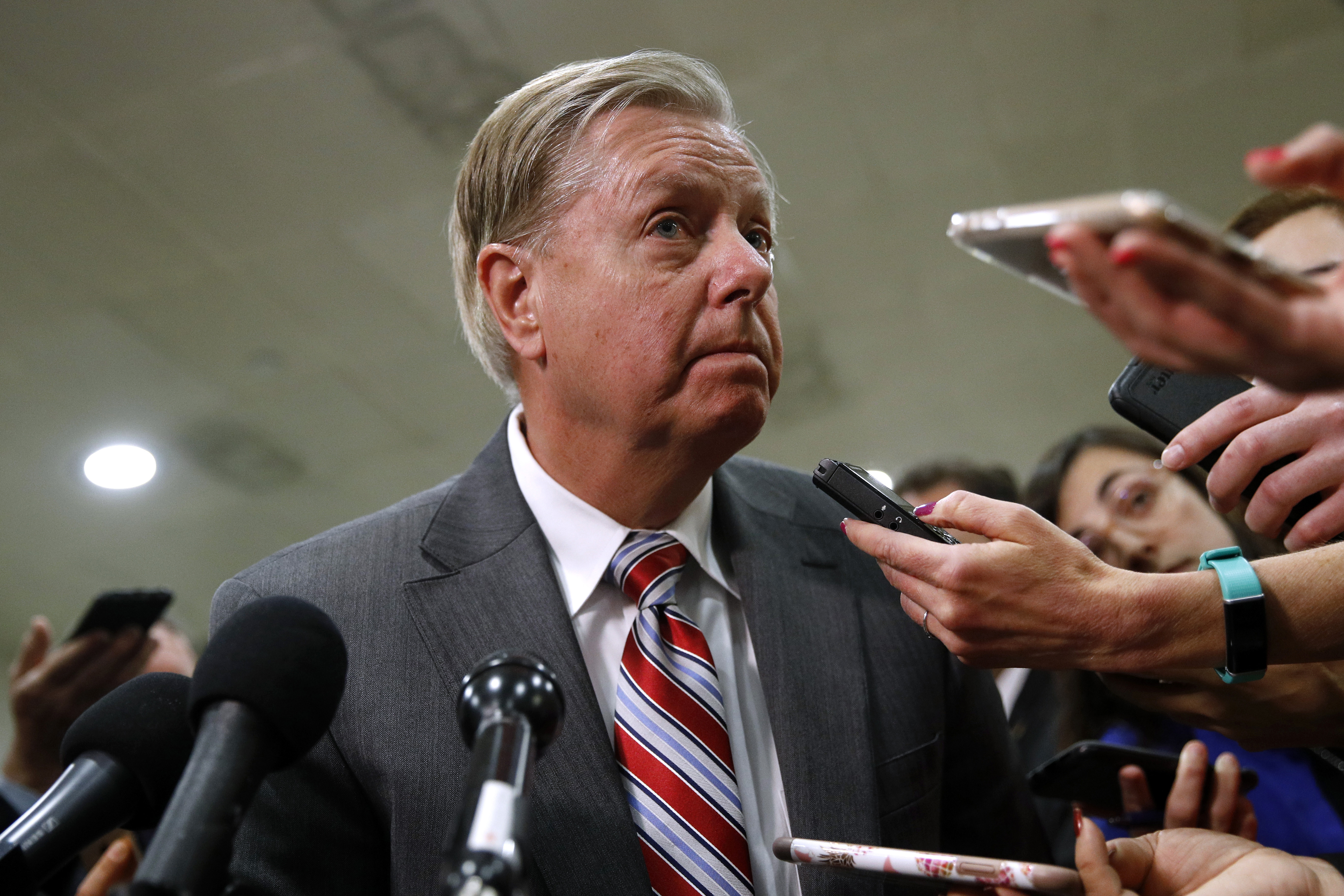 Lindsey Graham: Trump declassification move 'not compromising national security'