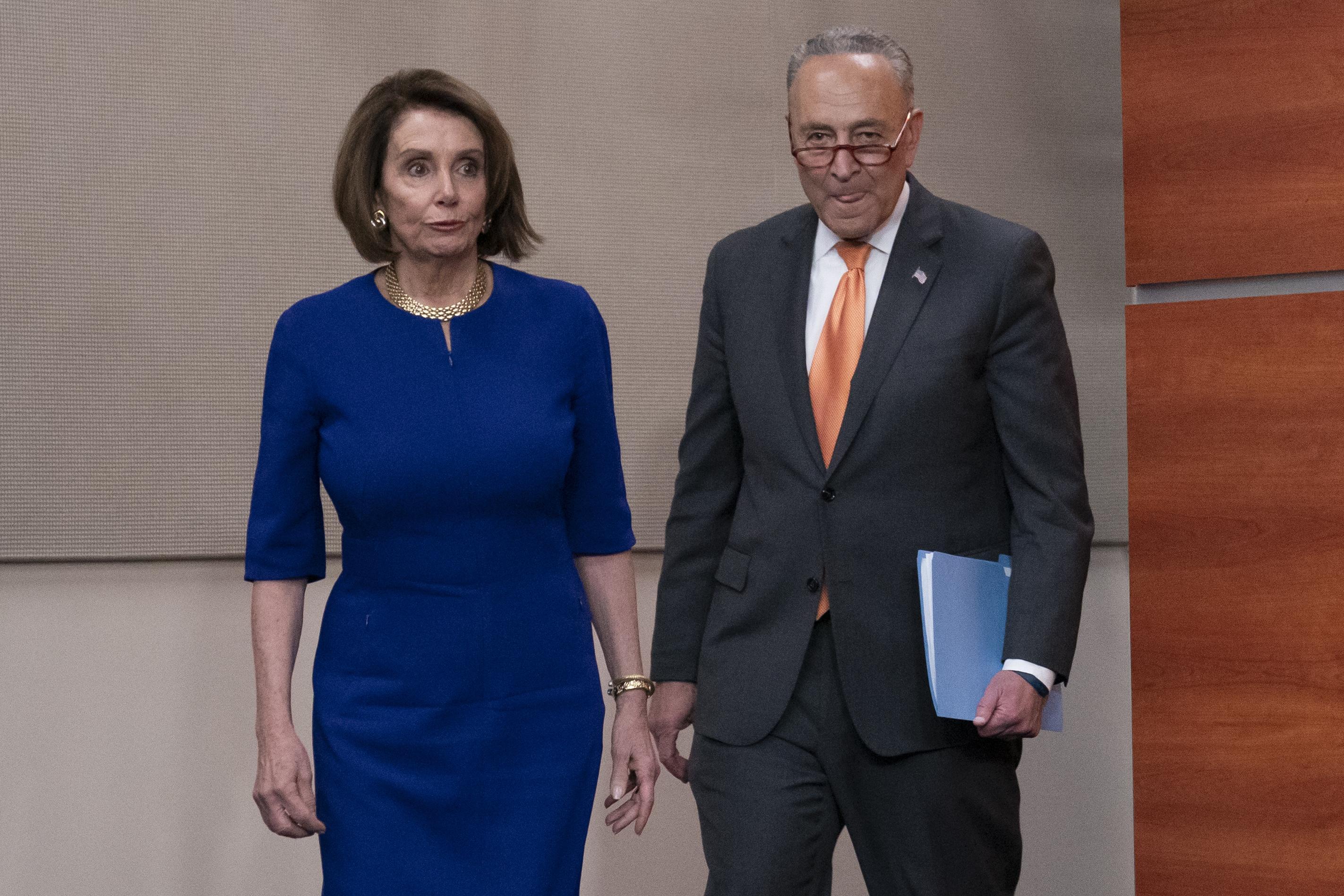Nancy Pelosi, Chuck Schumer set vote to rebuke Trump on Syria
