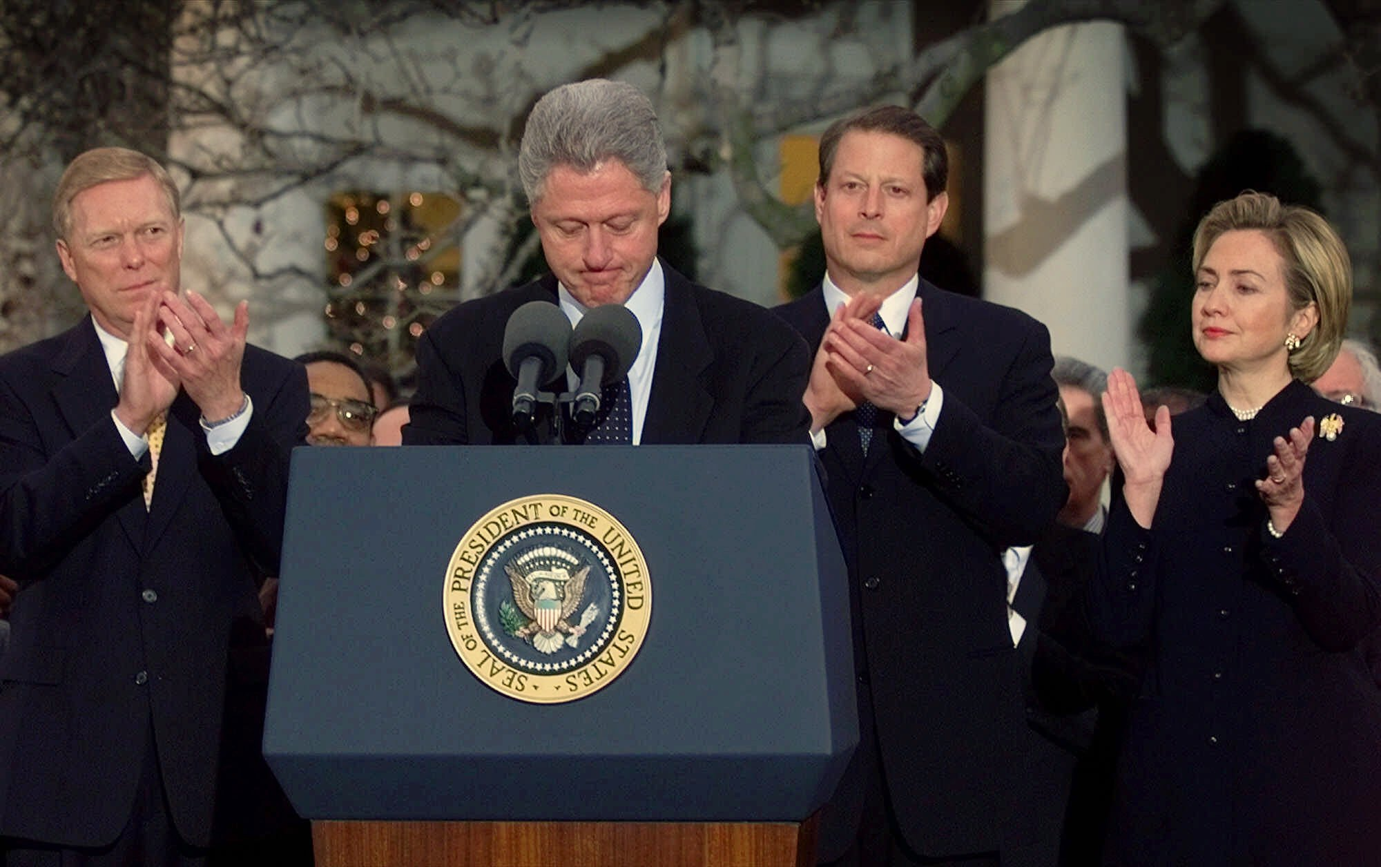 History offers little precedent for impeaching U.S. presidents