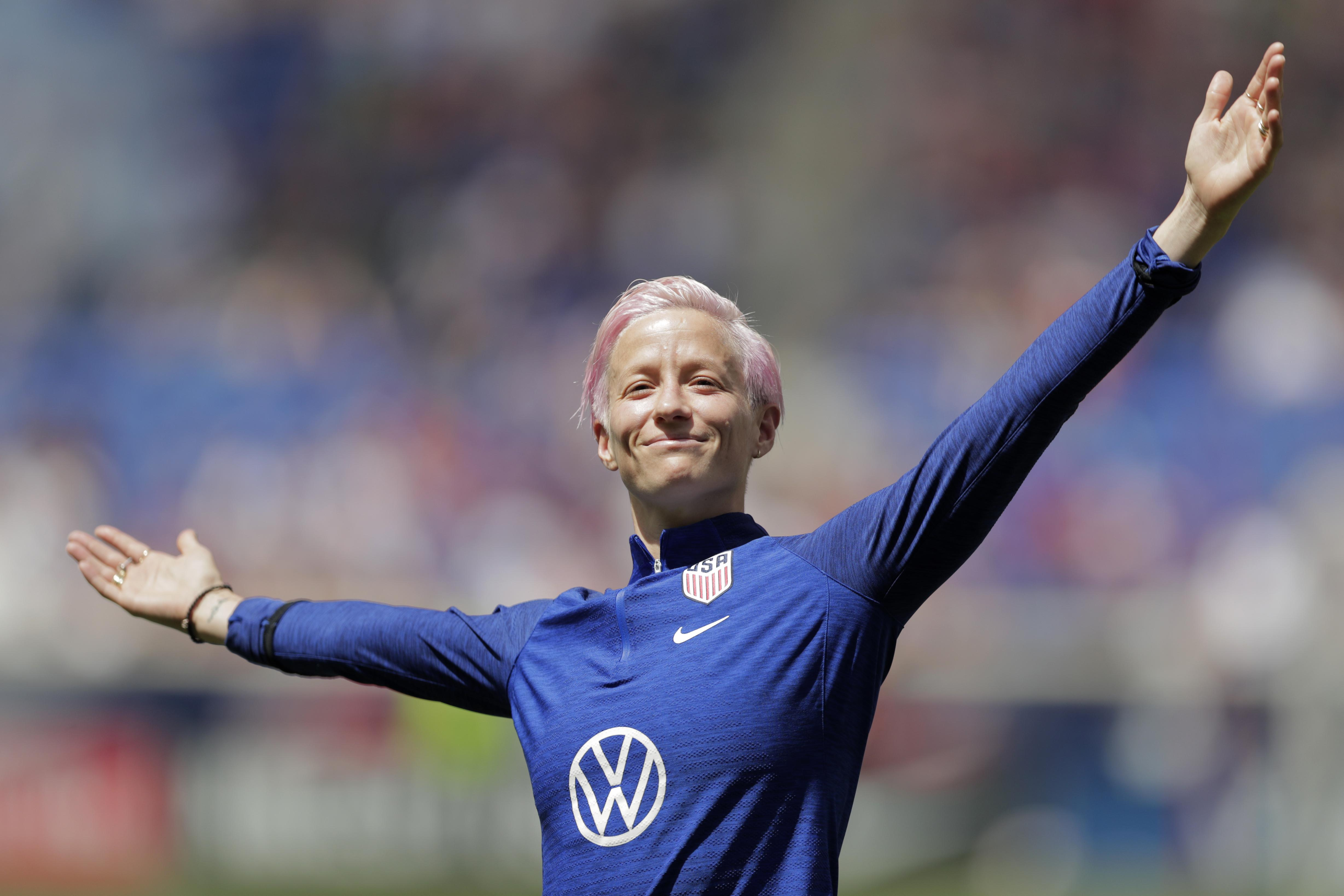 Trump rips Megan Rapinoe saying she's 'not going to the f***ing White House'; You 'should WIN first'