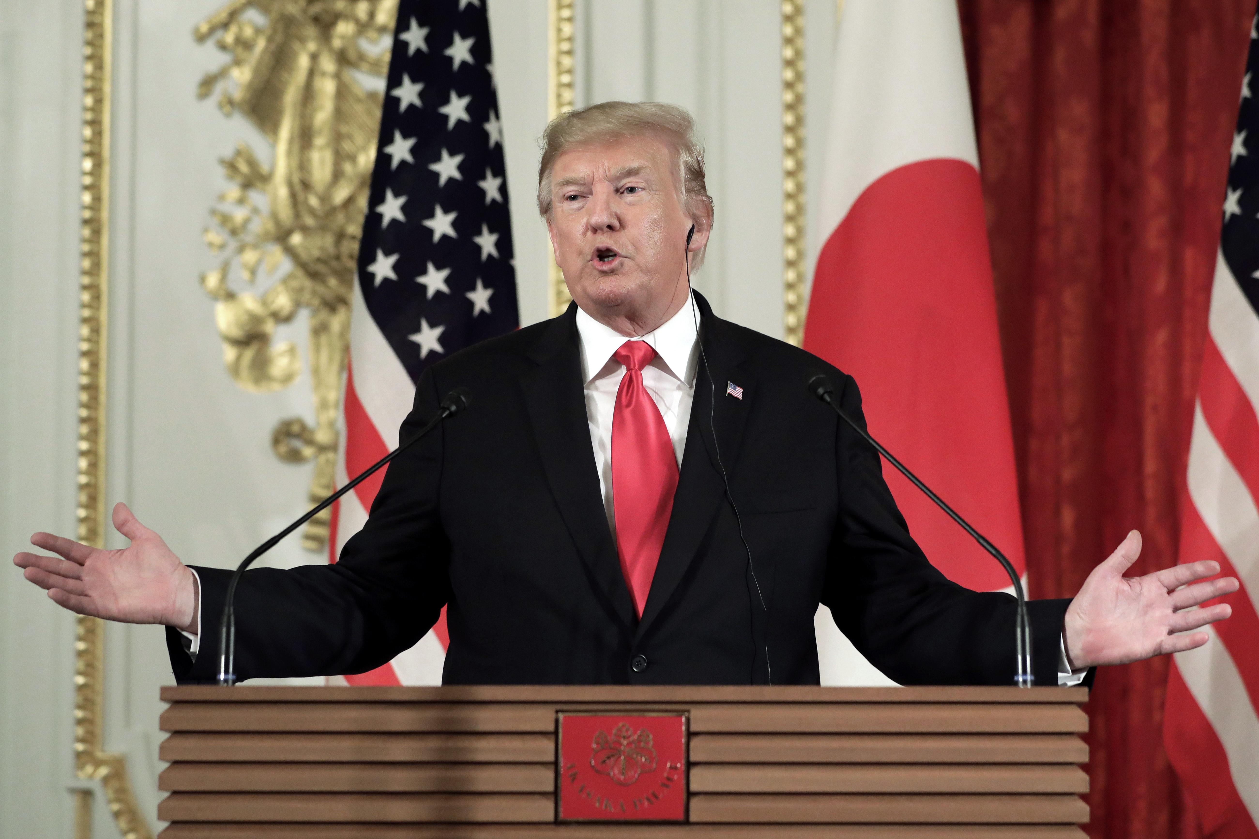 Trump agrees with Kim Jong-un that Joe Biden is 'low IQ'