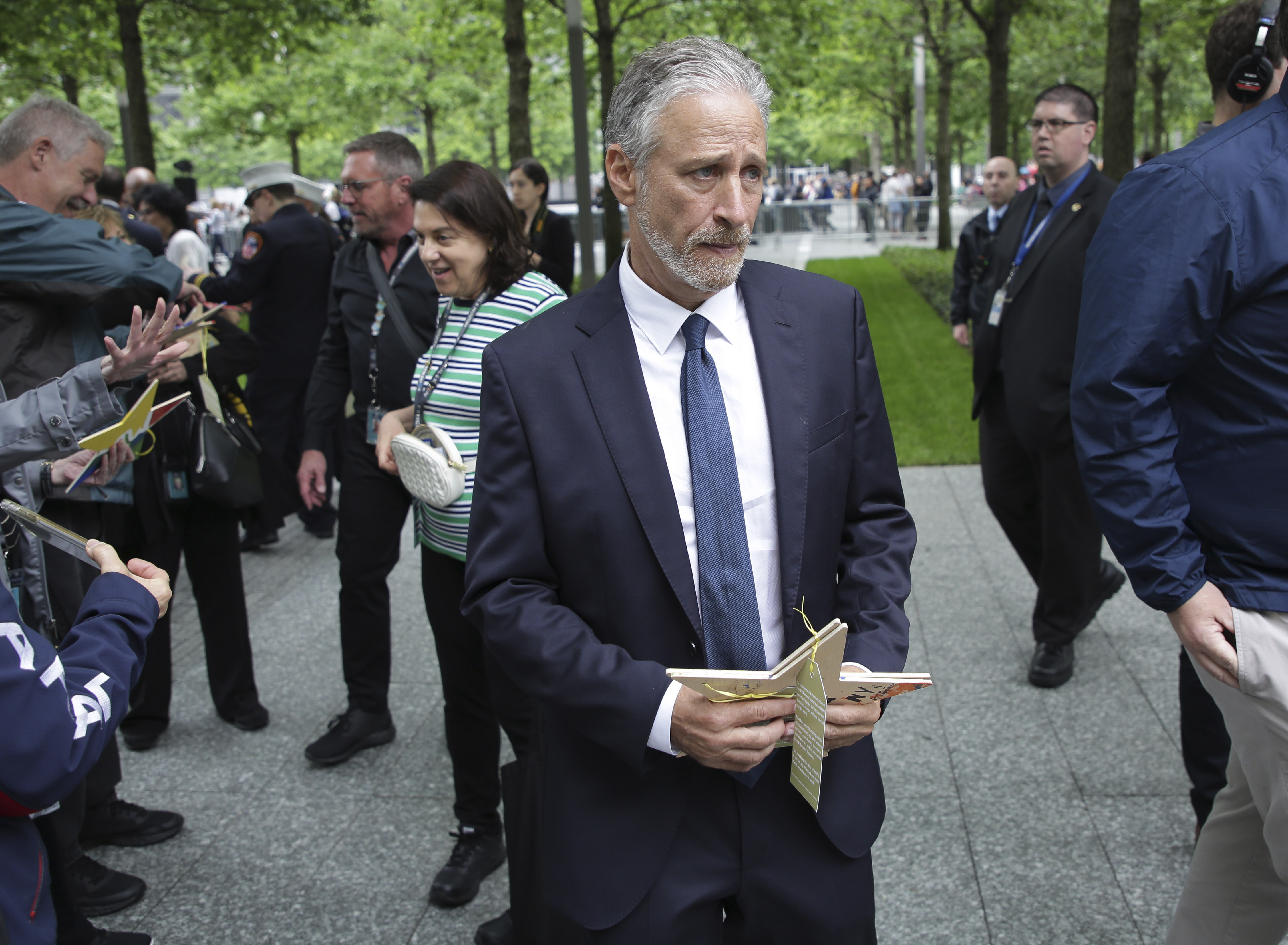 John Stewart rebukes Congress in 9/11 victims hearing: 'They did their jobs... do yours!'