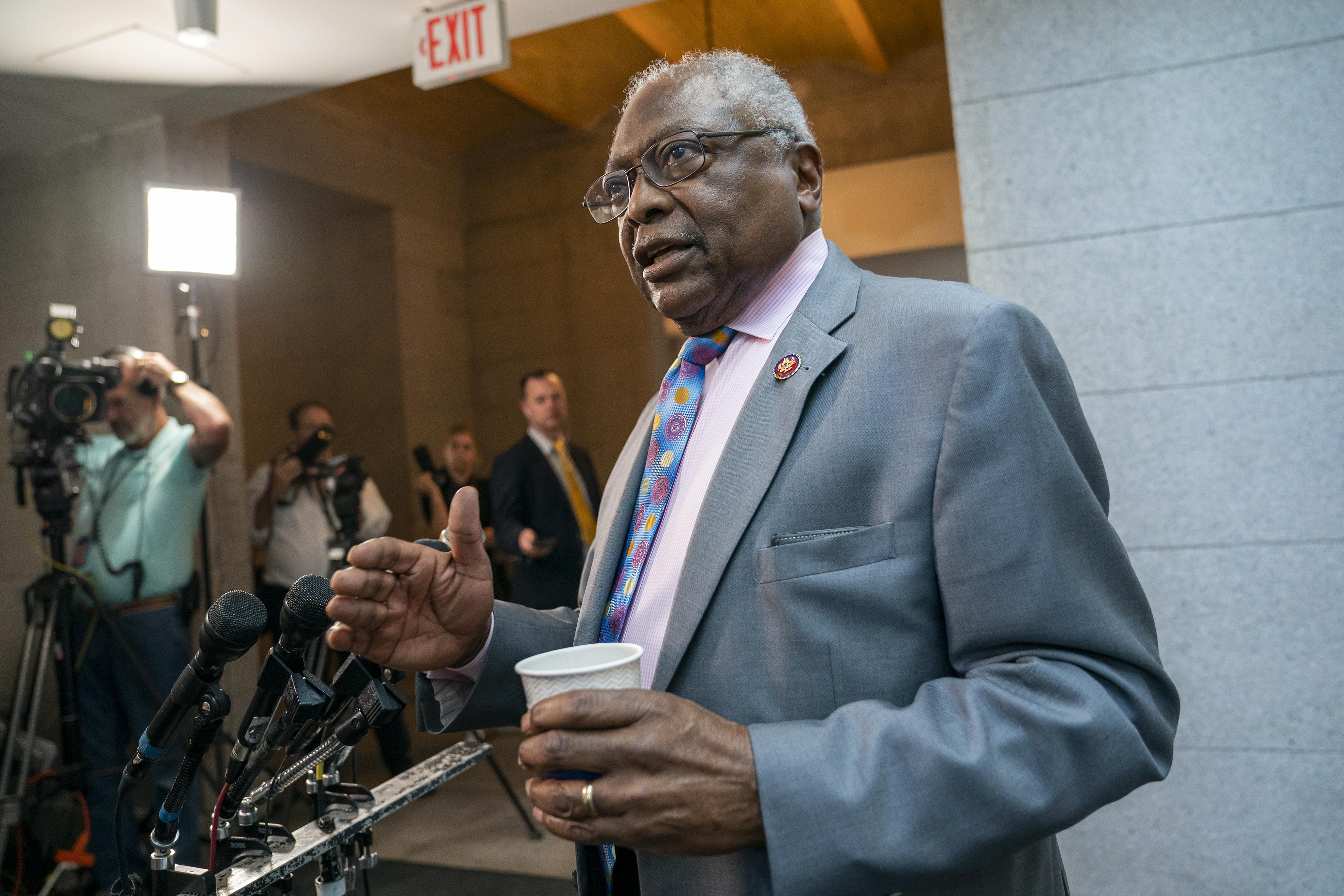 James Clyburn says he hopes impeachment inquiry can wrap up by Christm