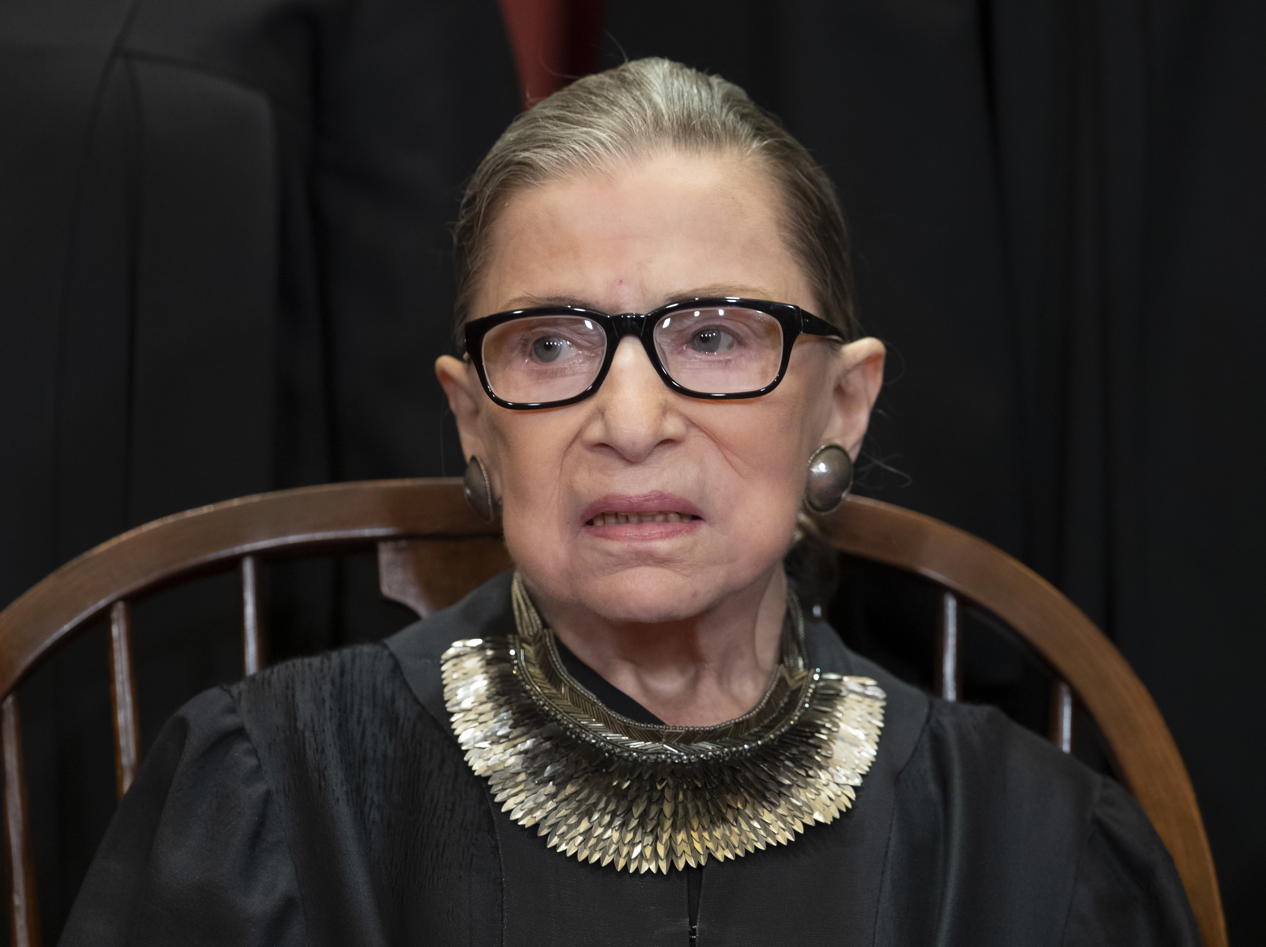 Ruth Bader Ginsburg hints at sharp divide over court's high-profile pending cases