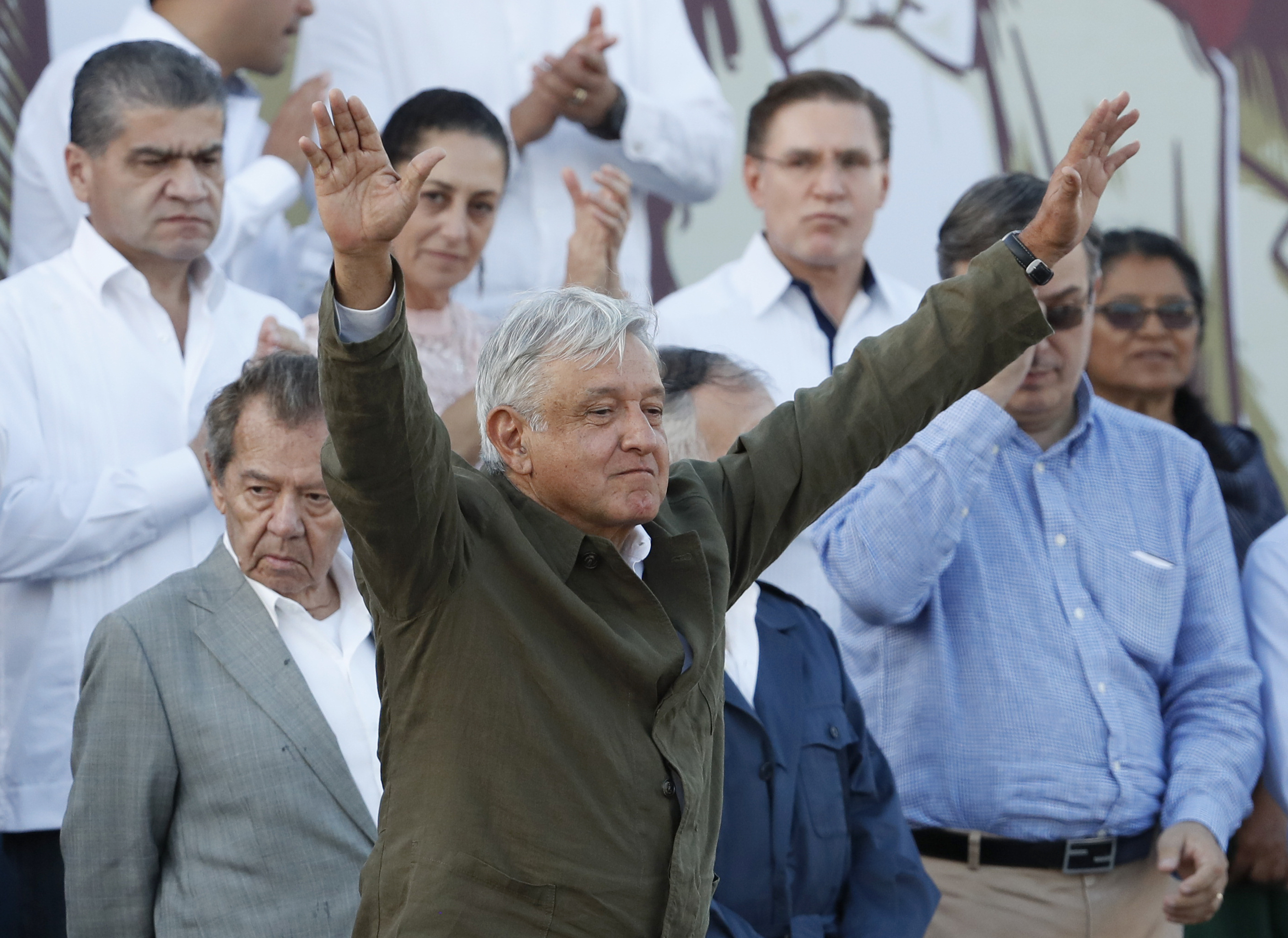 'Dignity intact': Mexico celebrates deal in Tijuana rally