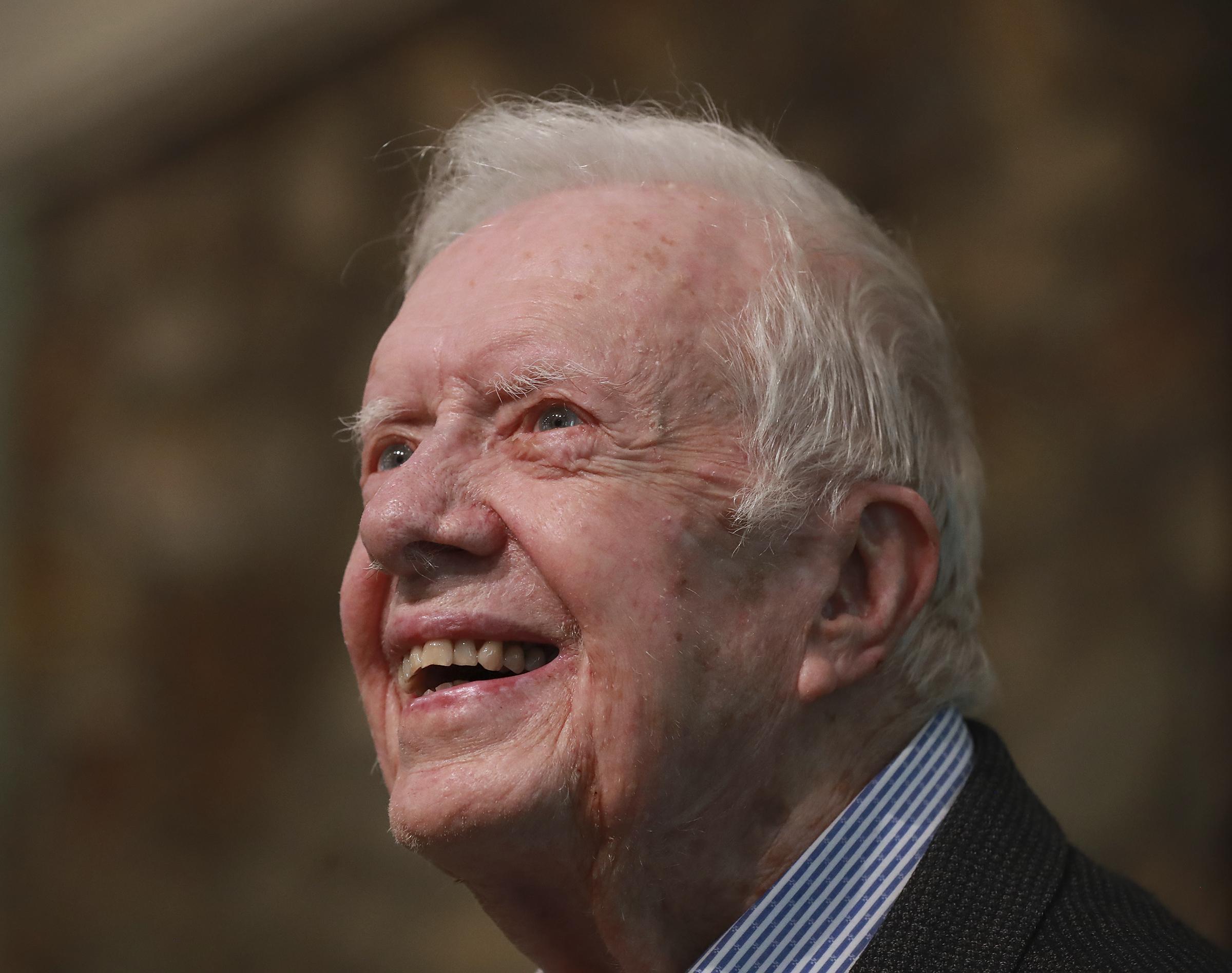 Jimmy Carter hospitalized with brain injury