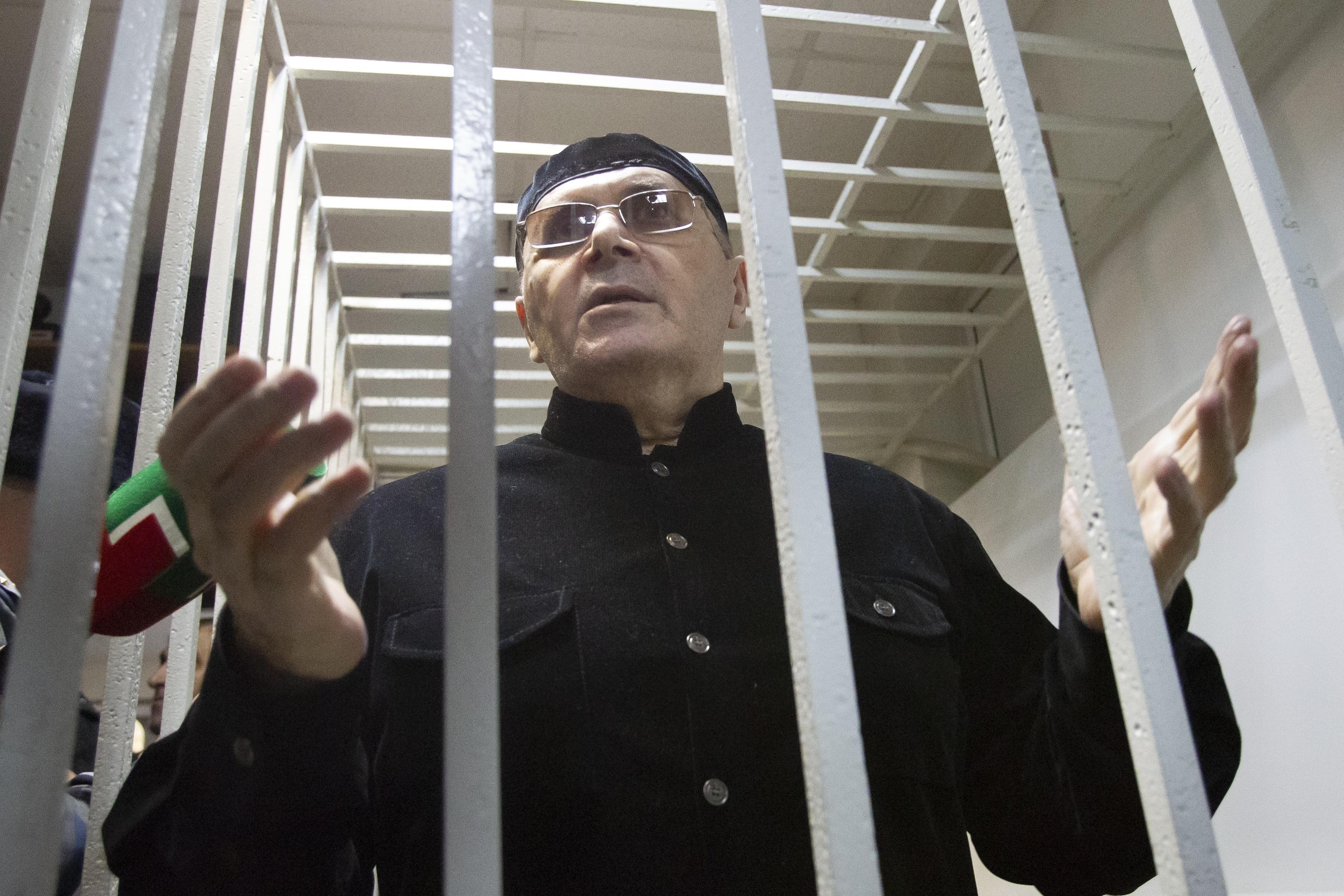 Rights activist in Chechnya gets parole on drug sentence