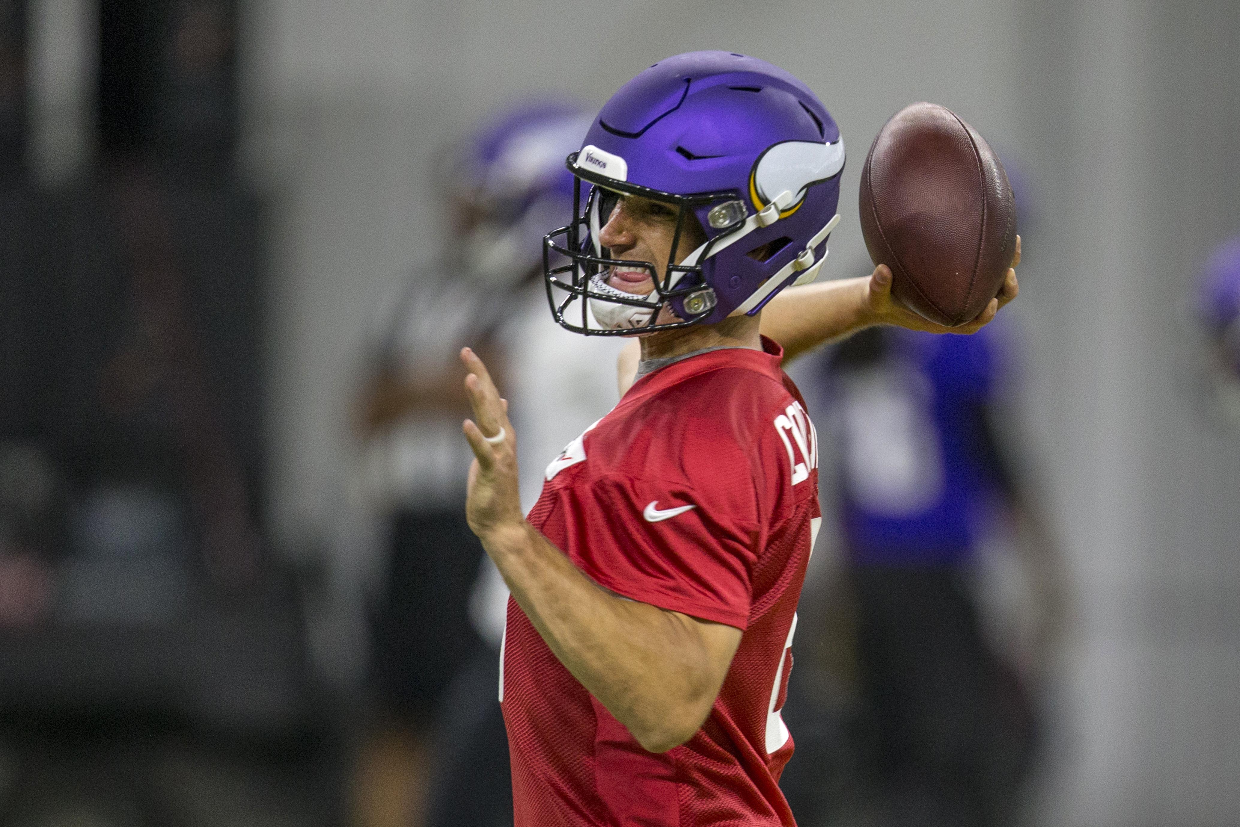 4e74eac3 Kirk Cousins: 'I'm pretty much a .500 quarterback in my career so ...