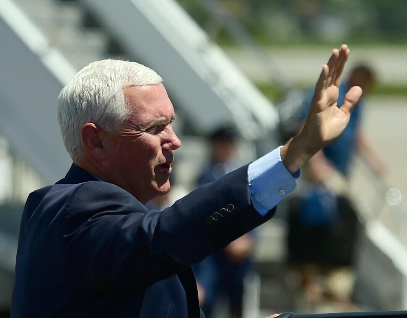 The Latest: Pence promotes plan to reduce $12B parks backlog