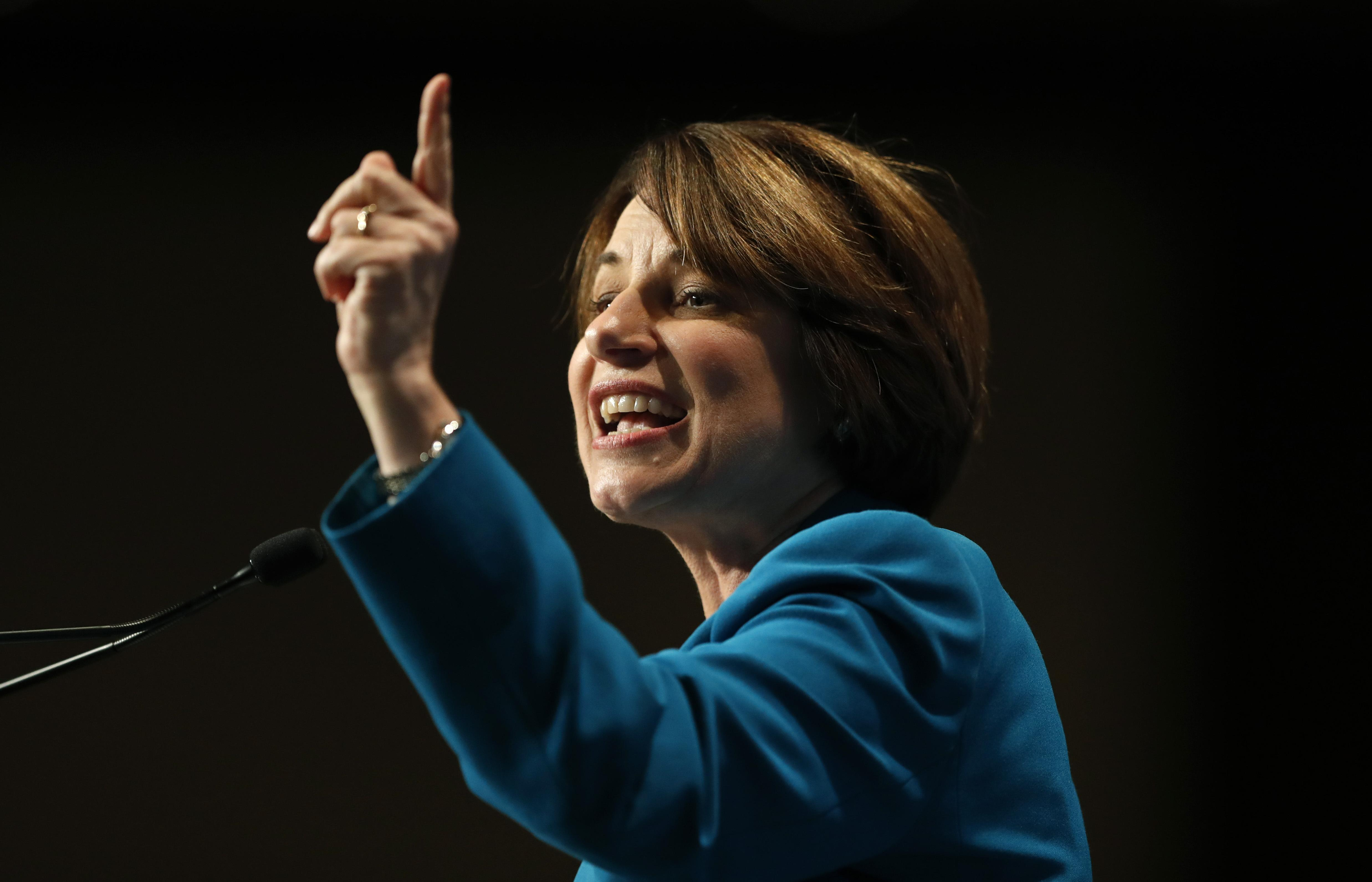 Amy Klobuchar outlines more than 100 agenda items for first 100 days in office