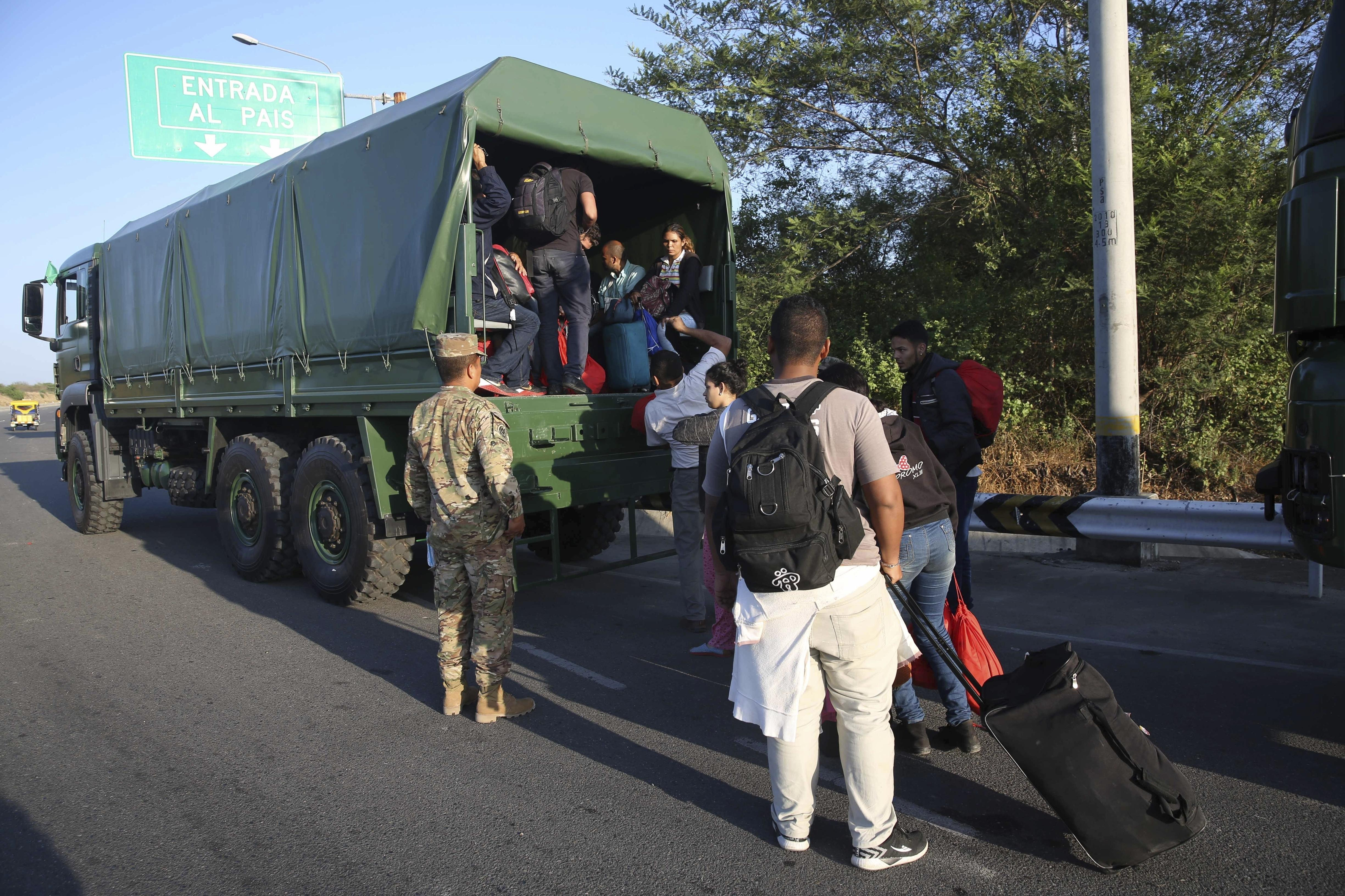 Trump administration weighs protected status for Venezuelans fleeing c