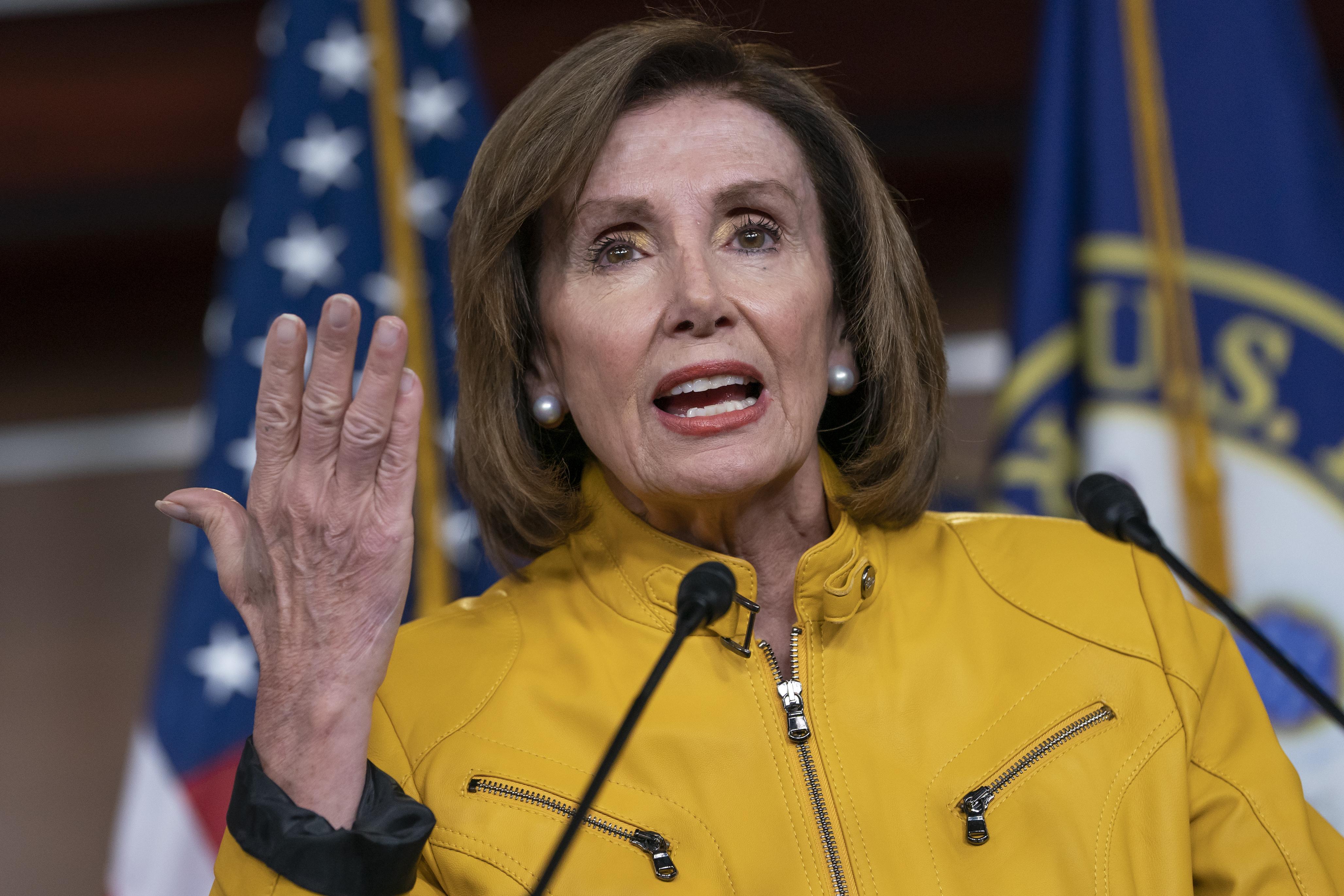 Nancy Pelosi pushes back on impeachment, censure on Trump