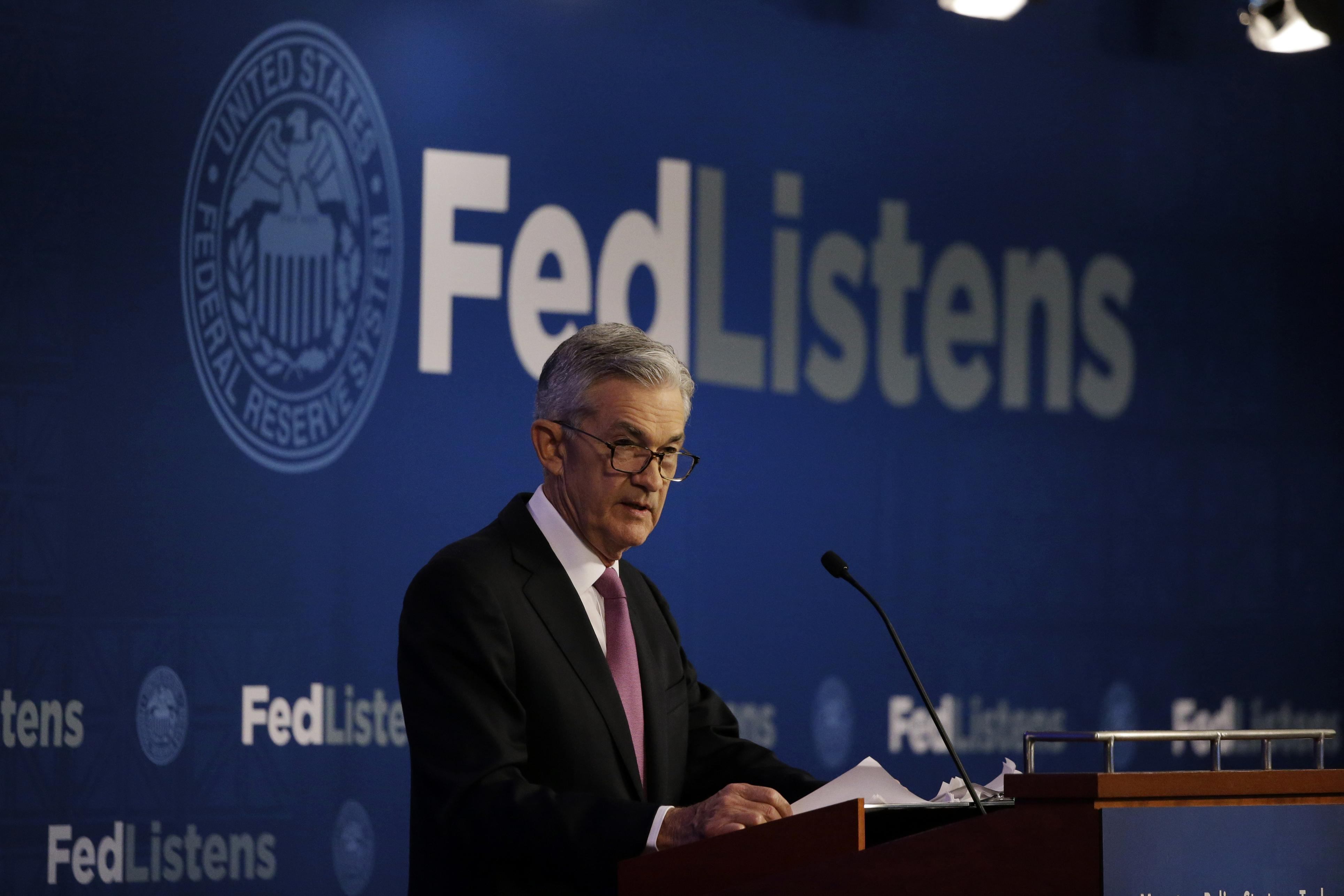 Fed votes to hold interest rates steady, angering Trump allies