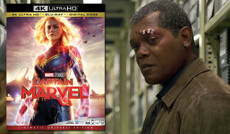 'Captain Marvel: Cinematic Universe Edition' 4K Ultra HD review