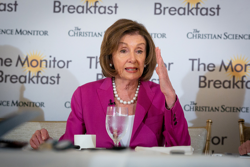 Pelosi to review mostly unredacted Mueller report