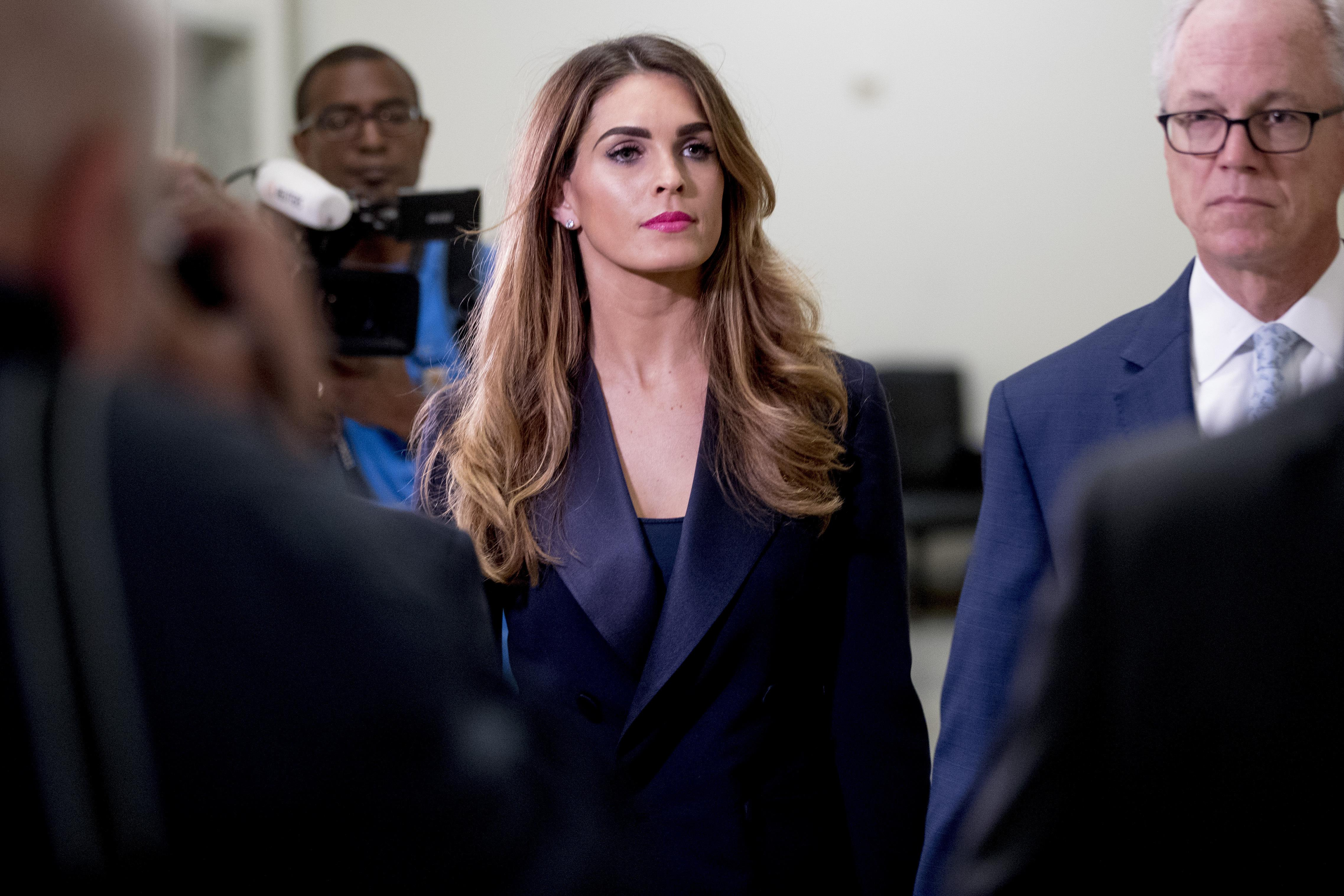 'This is like Inception': Hope Hicks questioning exposes Democrats' drive to impeach Trump