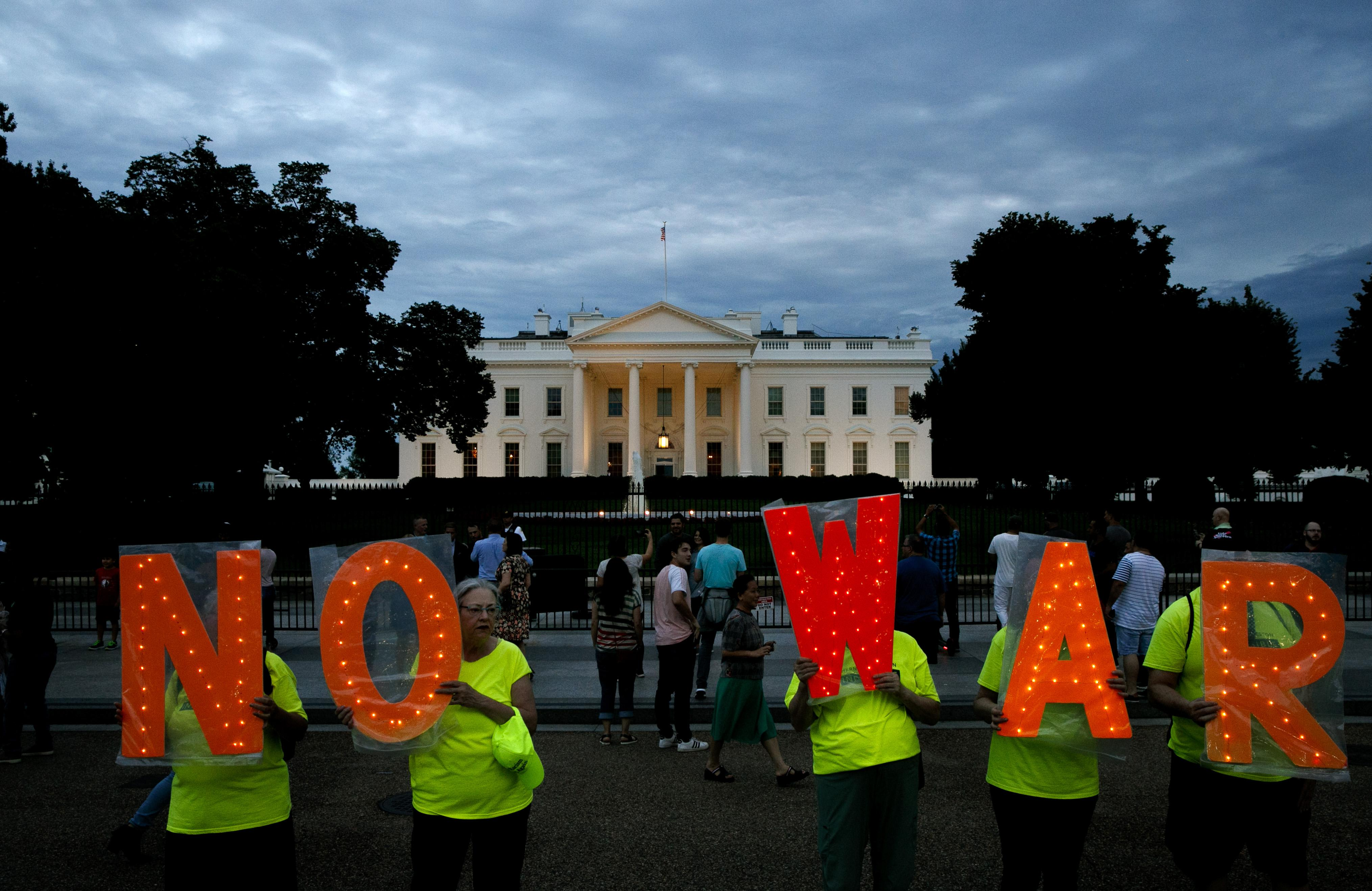 Swing state poll finds little support for war with Iran