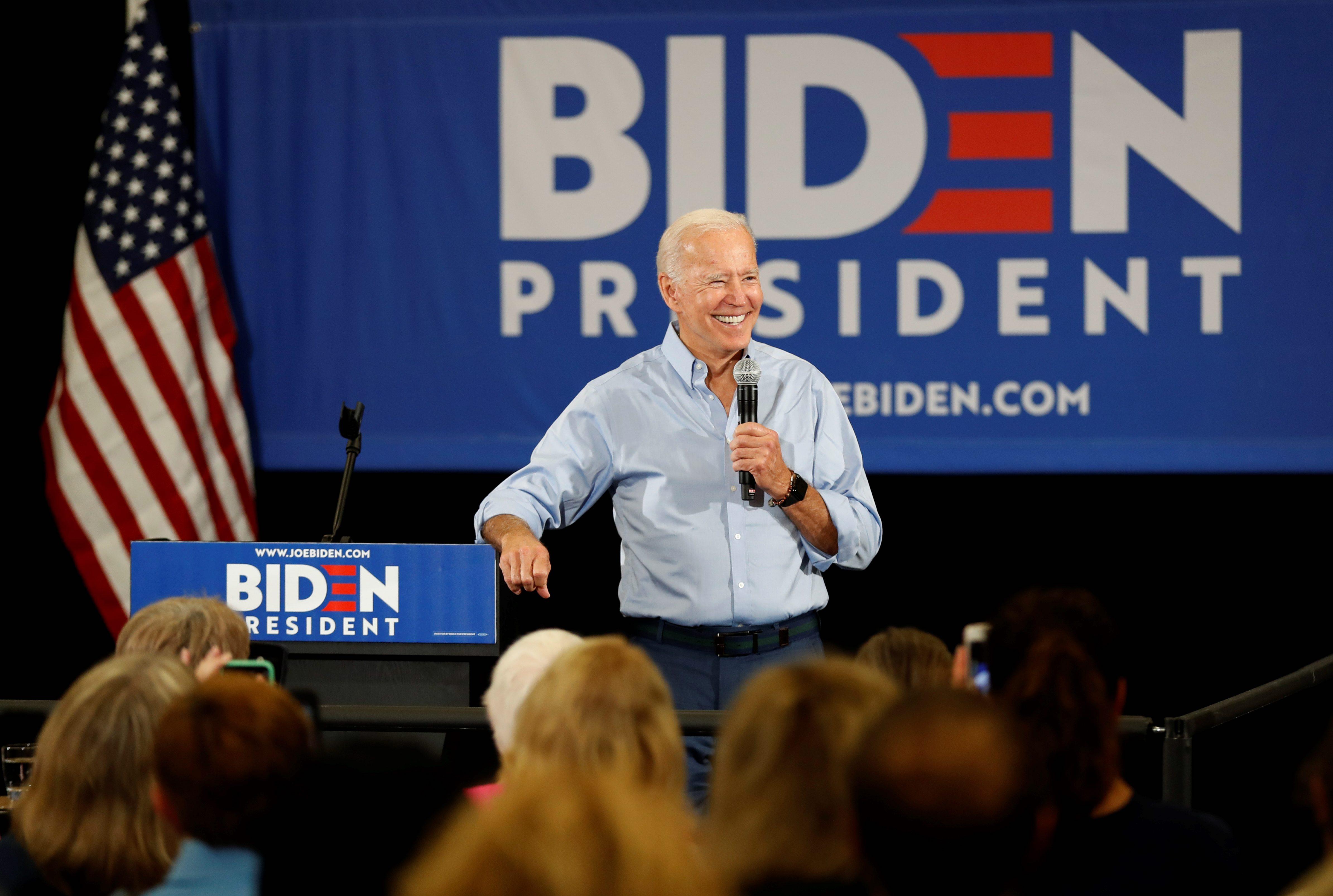 Support for Biden steady after comments about segregationist senators